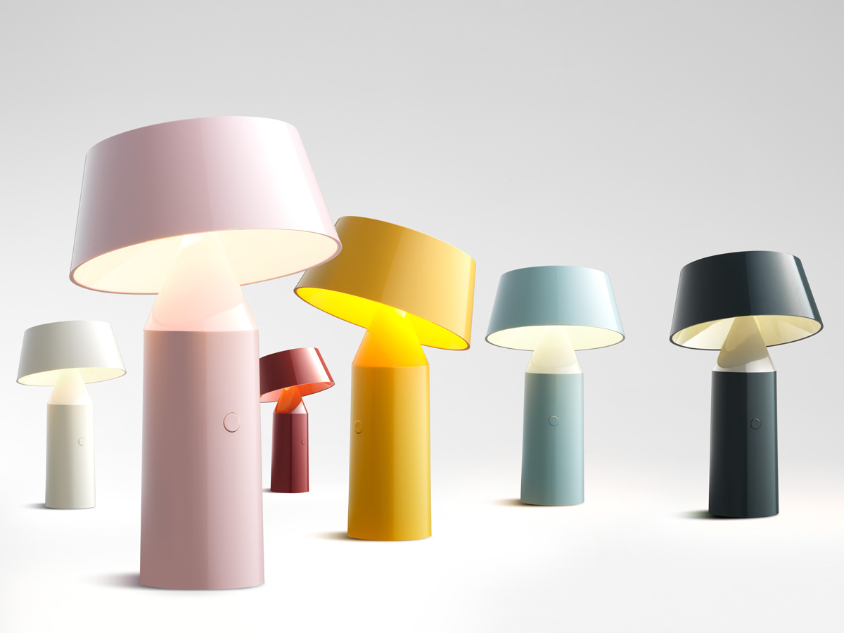 Bicoca Portable Table Lamp - <p>The Bicoca is born with the optimism of brightening life and accompanying the good times, wherever you go. This new colorful, lightweight portable lamp projects an intimate light that adds warmth to all your personal spaces.</p>