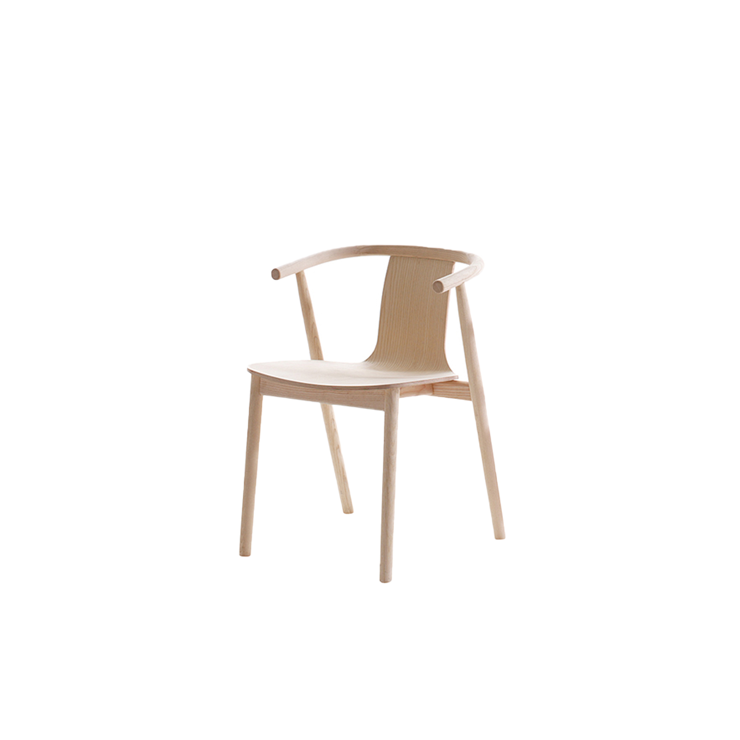 Bac Chair - Aesthetics and functionality form the perfect union in the Bac chair range. Envisioned by designer Jasper Morrison, these objects of design were inspired by the namesake table and were created for Cappellini as a natural evolution of the line.   Bac, Bac One and Bac Two seats have a frame made of solid ash wood, and are available in a bleached, oak-stained, black-stained, wengé-stained or Shanghai blue aniline stained finish. The seat is made of ash, with the same finish as the frame.   For the Bac, Bac One and Bac Two chairs it is also possible to upholster the front of the ash seat with leather or fabric.  | Matter of Stuff