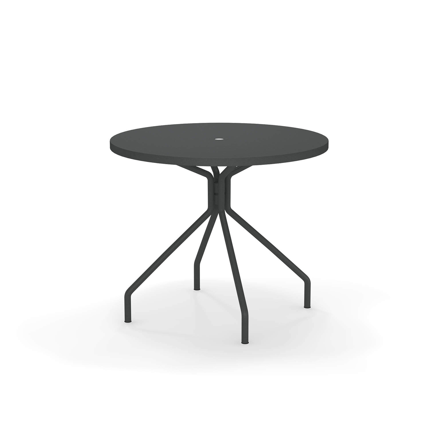Solid Round Table - <p>A family of essential-looking tables designed to furnish any kind of outdoor space with simplicity: Solid is characterised by the functional sheet metal plate made from steel, for the most varied use needs.</p>  | Matter of Stuff