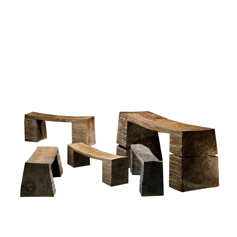Benches - The artistic work of the trained carpenter and film-director Fritz Baumann is expressed in award-winning films and unique works in wood. Every bench is different and unique. Please contact us on info@matterofstuff.com to inquire on the range available at the moment of ordering.  | Matter of Stuff