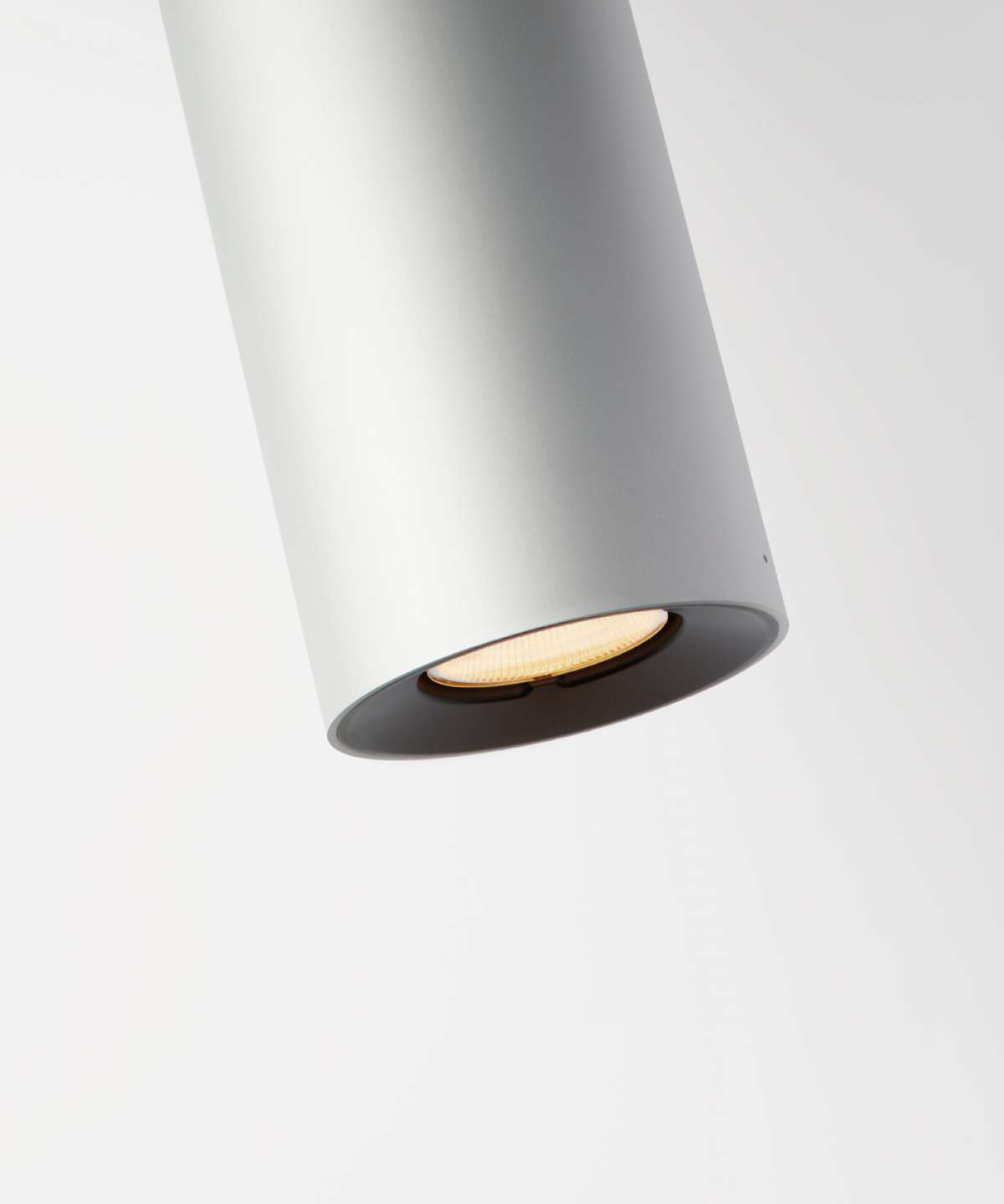 E04 Ceiling Lamp -  Ceiling lights produced in two diameters (70 mm and 134 mm) and various lengths. The recessed positioning of the light source increases the angle of shading and lighting comfort  Size and finishes are varies please enquire for more information | Matter of Stuff