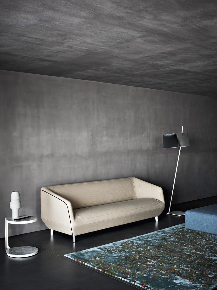 Dressed Three Seater Sofa