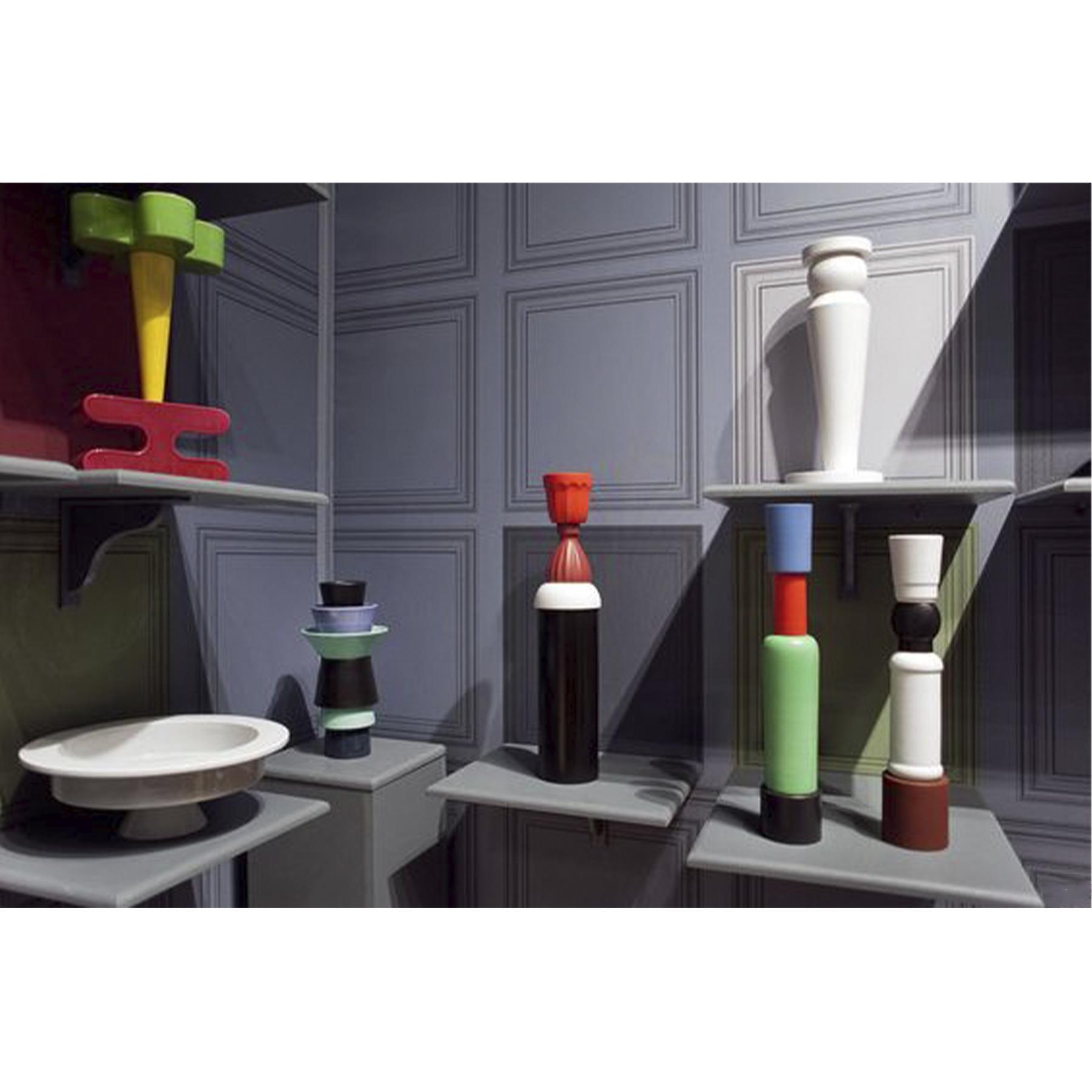 Tall Multicoloured Vase