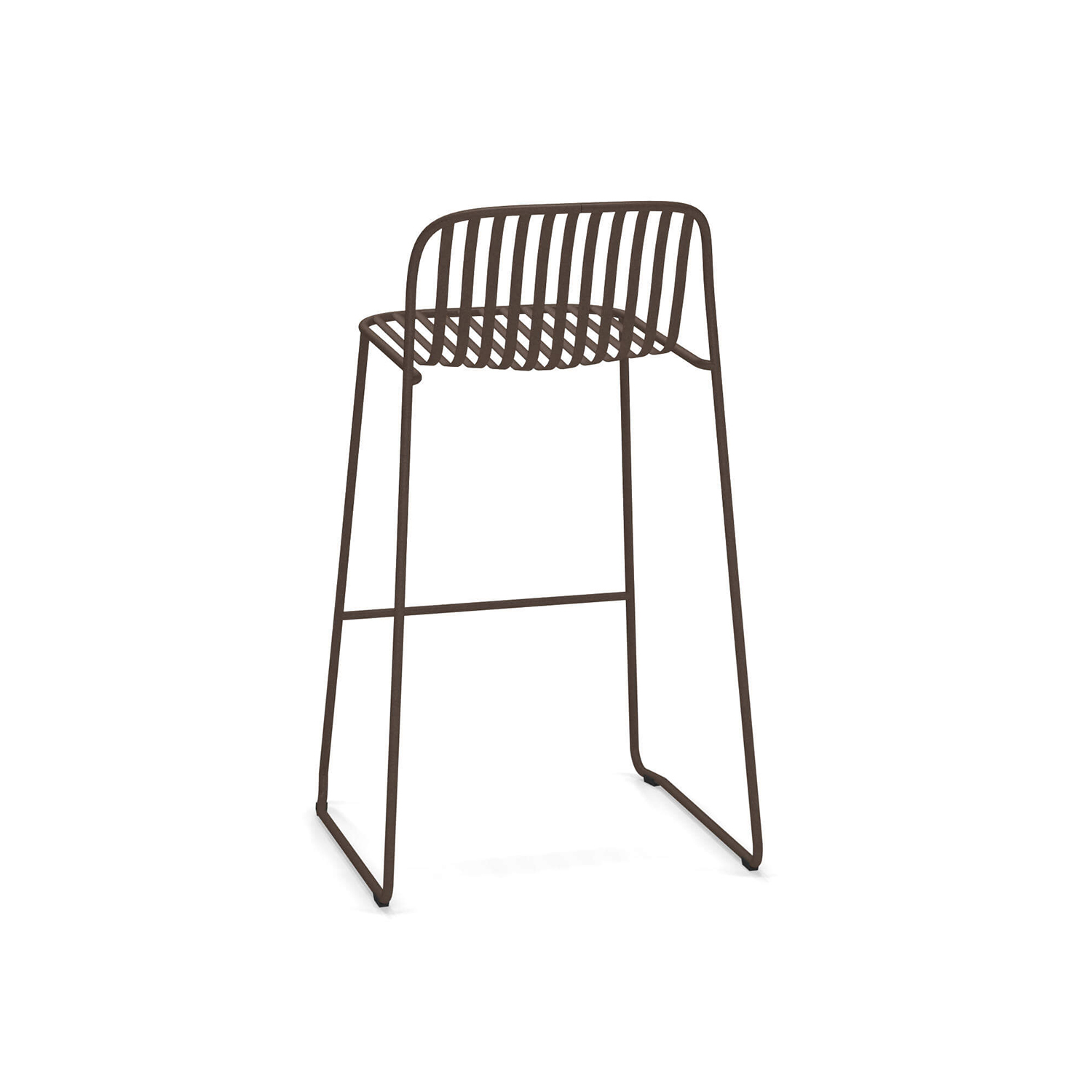 Riviera Barstool - Set of 2 - The Riviera Barstool - Set of 2 is a set of 2 barstools. The frame is made from steel and these stools look perfect as a two or you can buy another set and have four. 