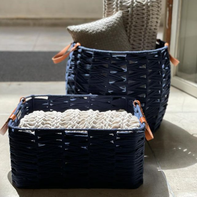 Ocean Soft Living Basket Rectangular