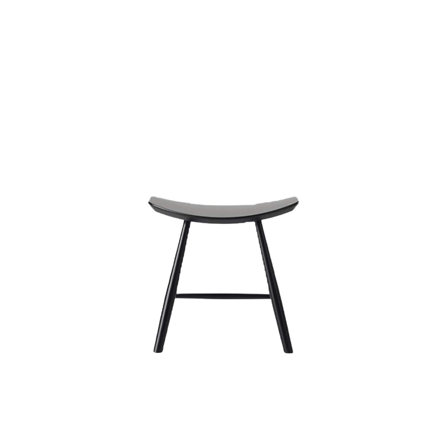 J63 Stool - A classic wooden stool that can be used together with the J64 chair, next to a bed or as an occasional seat for guests in a smaller kitchen or living room. | Matter of Stuff