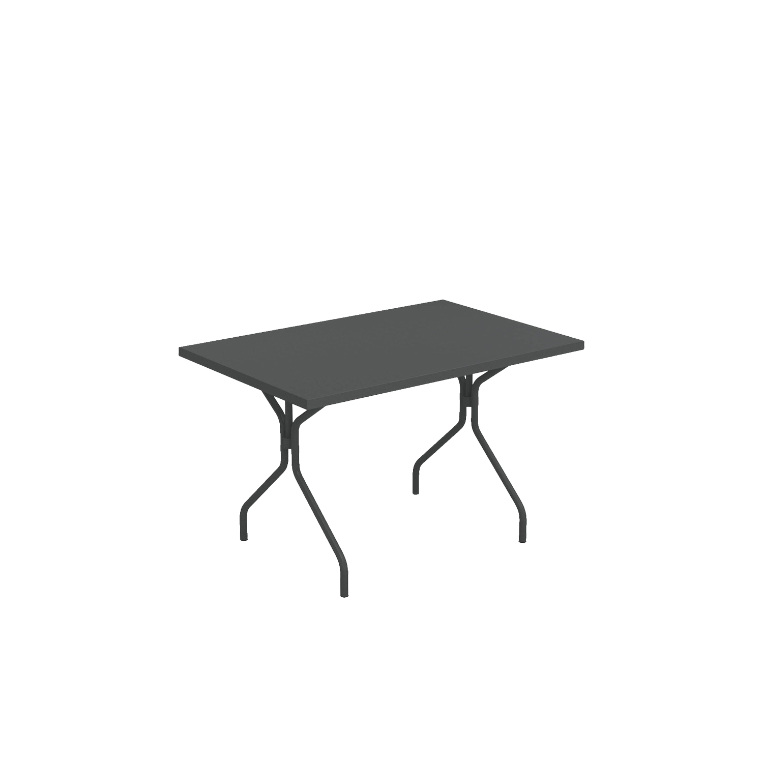 Solid Rectangular Dining Table - <p>A family of essential-looking tables designed to furnish any kind of outdoor space with simplicity: Solid is characterised by the functional steel sheet metal plate, for the most varied use needs.</p>