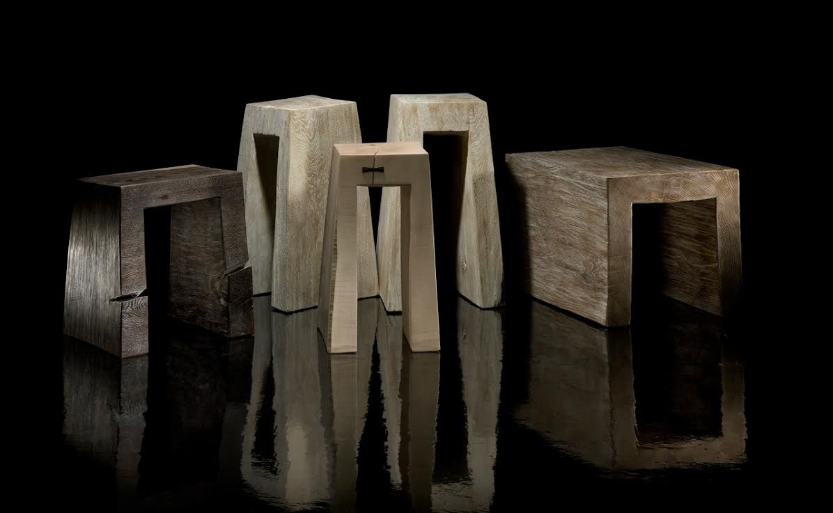 Stools - <p>The artistic work of the trained carpenter and film-director Fritz Baumann is expressed in award-winning films and unique works in wood.<br /> Every stool is different and unique. Please contact us on info@matterofstuff.com to inquire on the range available at the moment of ordering.</p>  | Matter of Stuff