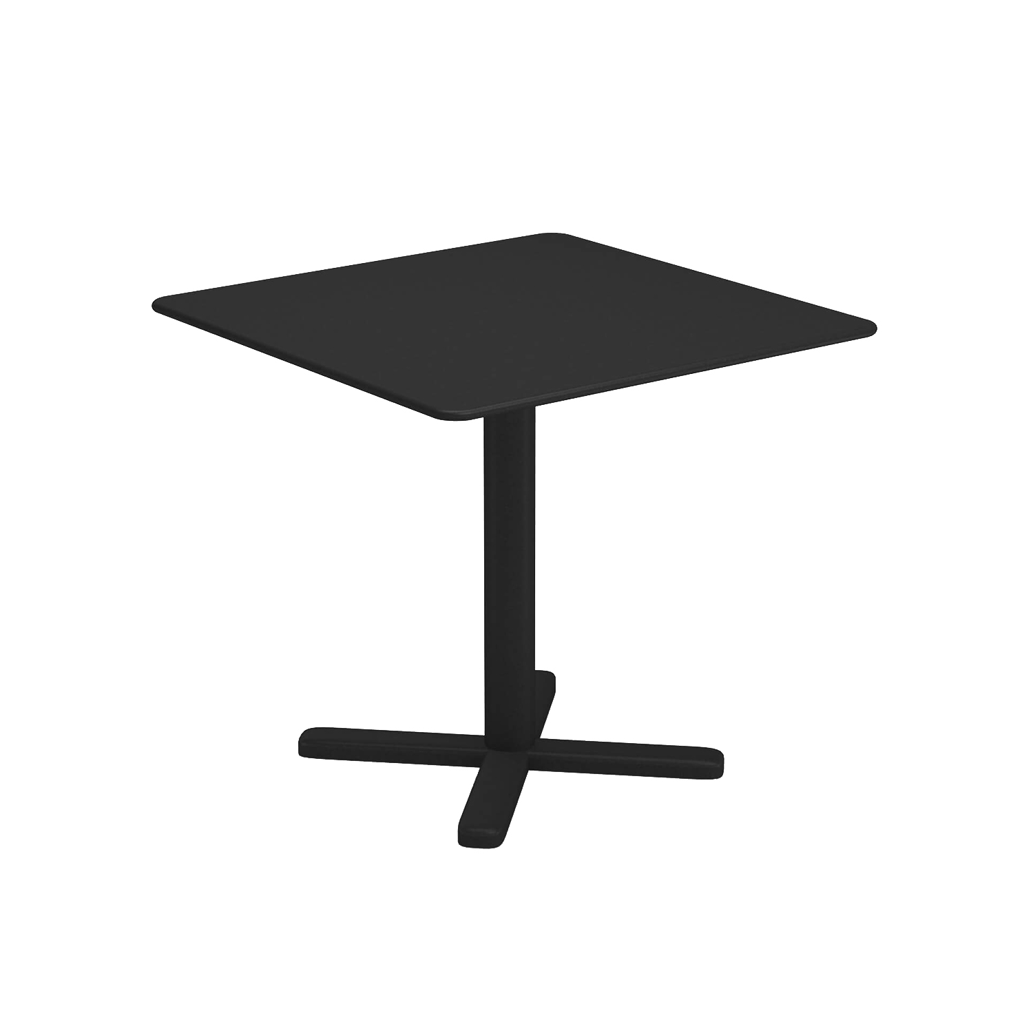 Darwin Folding Square Table - The ergonomic proportions and lightness of structural lines guarantee both comfort and adaptability. Darwin is a steel collection, which revisits classic themes, in a delicate metal sheet mesh placed within a contemporary geometric structure. The Darwin range consists of chairs, armchairs, tables, stool and counter table, sofa, lounge chair and coffee table. Defined by its exceptional style, Darwin is suited to all kinds of furnishing contexts. | Matter of Stuff