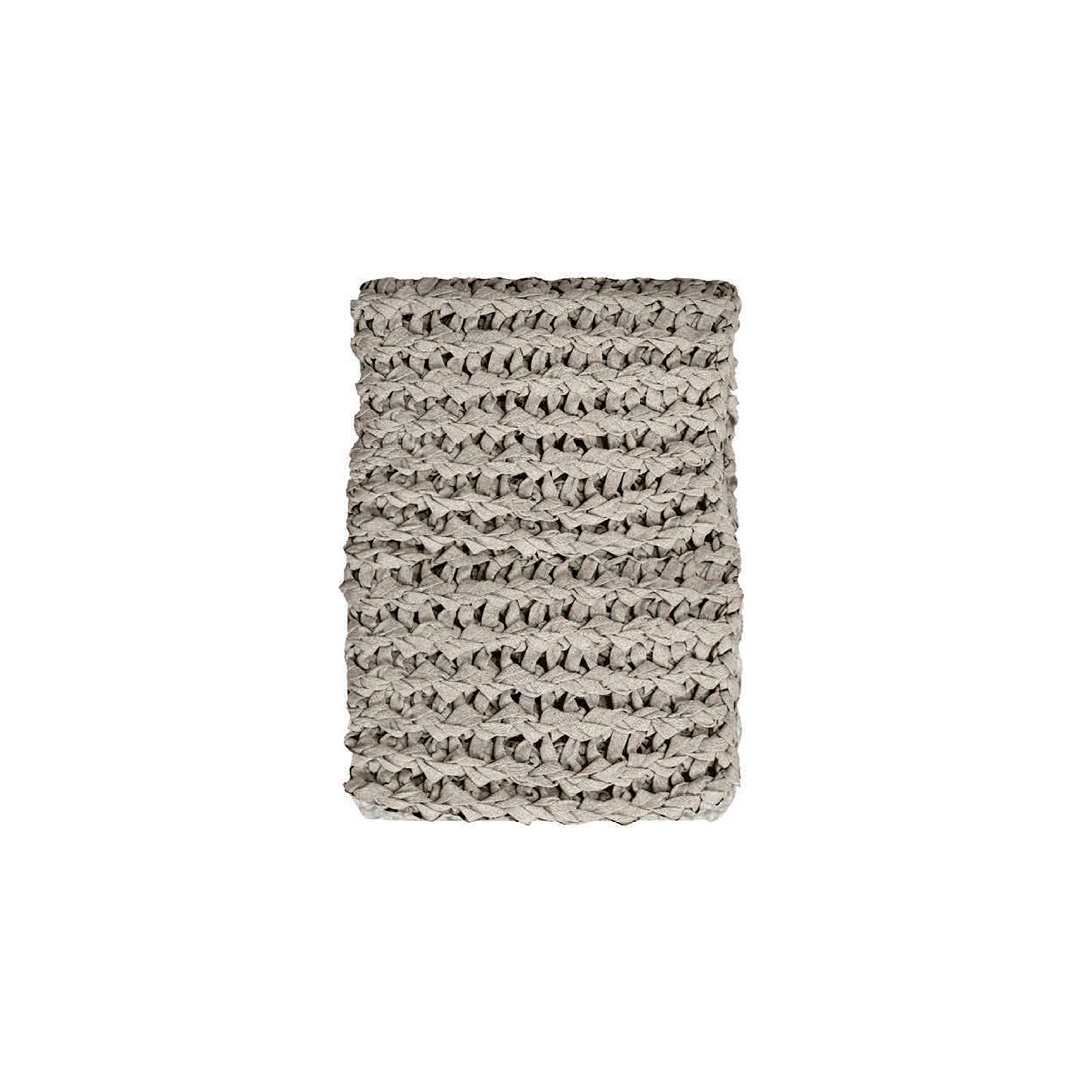 Stockholm Knitted Cotton Throw - The Stockholm Line is carefully knitted within a trained community of women that found in their craft a way to provide for their families, each one of these cushions and throws is unique.  Elisa Atheniense Home soft indoors collection is made with natural cotton fibres, eco-friendly, handwoven or elaborated using traditional hand-loom techniques. The use of organic materials brings softness and comfort to the space. This collection combines their mission for responsible sourcing and manufacturing.  Please enquire for more information and see colour chart for reference.   | Matter of Stuff