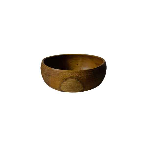 Bowl 04 - The artistic work of the trained carpenter and film-director Fritz Baumann is expressed in award-winning films and unique works in wood. No. 04 Bowl is hand carved inOak, and then limed.  | Matter of Stuff