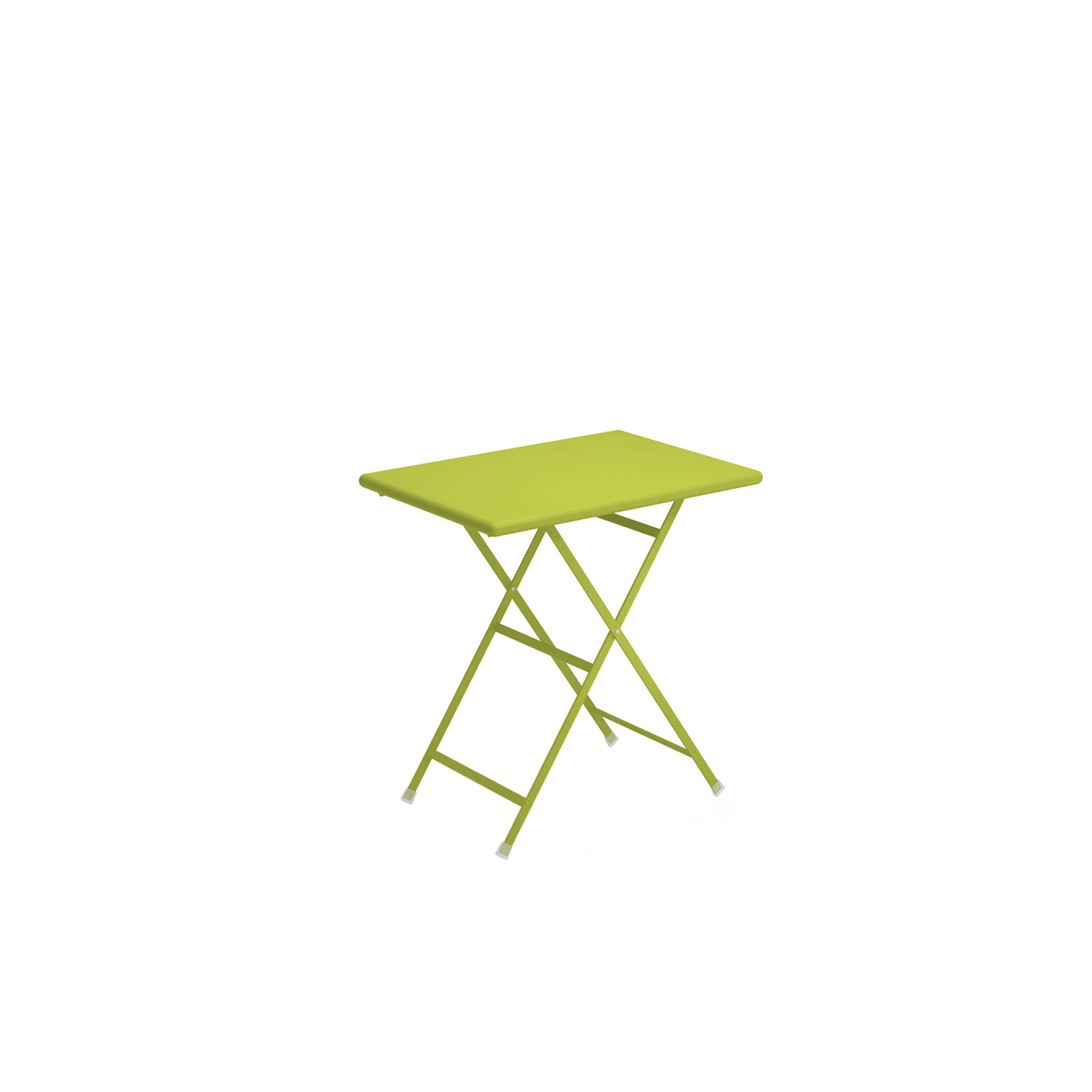 Arc en Ciel Rectangular Folding Table - <p>A range of colourful solutions to outdoor living, equally suited to balconies at home or large green gardens. Different sized tables, chairs with or without armrests and footrests, all of which can be folded making this furniture both informal and dynamic. This collection, made from steel, is full of bright, eye-catching solutions that enliven every context thanks to the wide choice of colours available.</p>