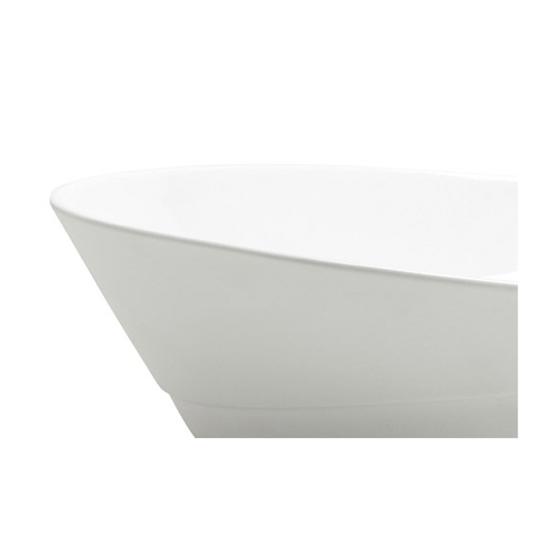 Flare Large Shallow Bowl - <p>Russell Pinch and Oona Bannon are renowned furniture and lighting designers and have reduced the scale in which they design to create Flare.<br /> Flare is a fine bone china collection that involves generous and curvaceous forms paired with exaggerated ratios delivered via handles and spouts. The shapes offer a sculptural modernity whilst referencing classic form, and make a virtue of light and shadow. For a radical departure from their usual palette, the Festival Jug is a hand-painted prestige piece that is wild in colour and takes an arduous five and a half hours to decorate.</p>  | Matter of Stuff
