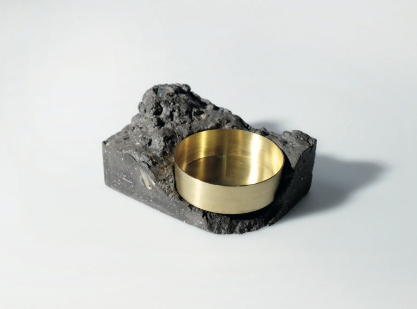 Cliff Series Sea Stone Candle Holder