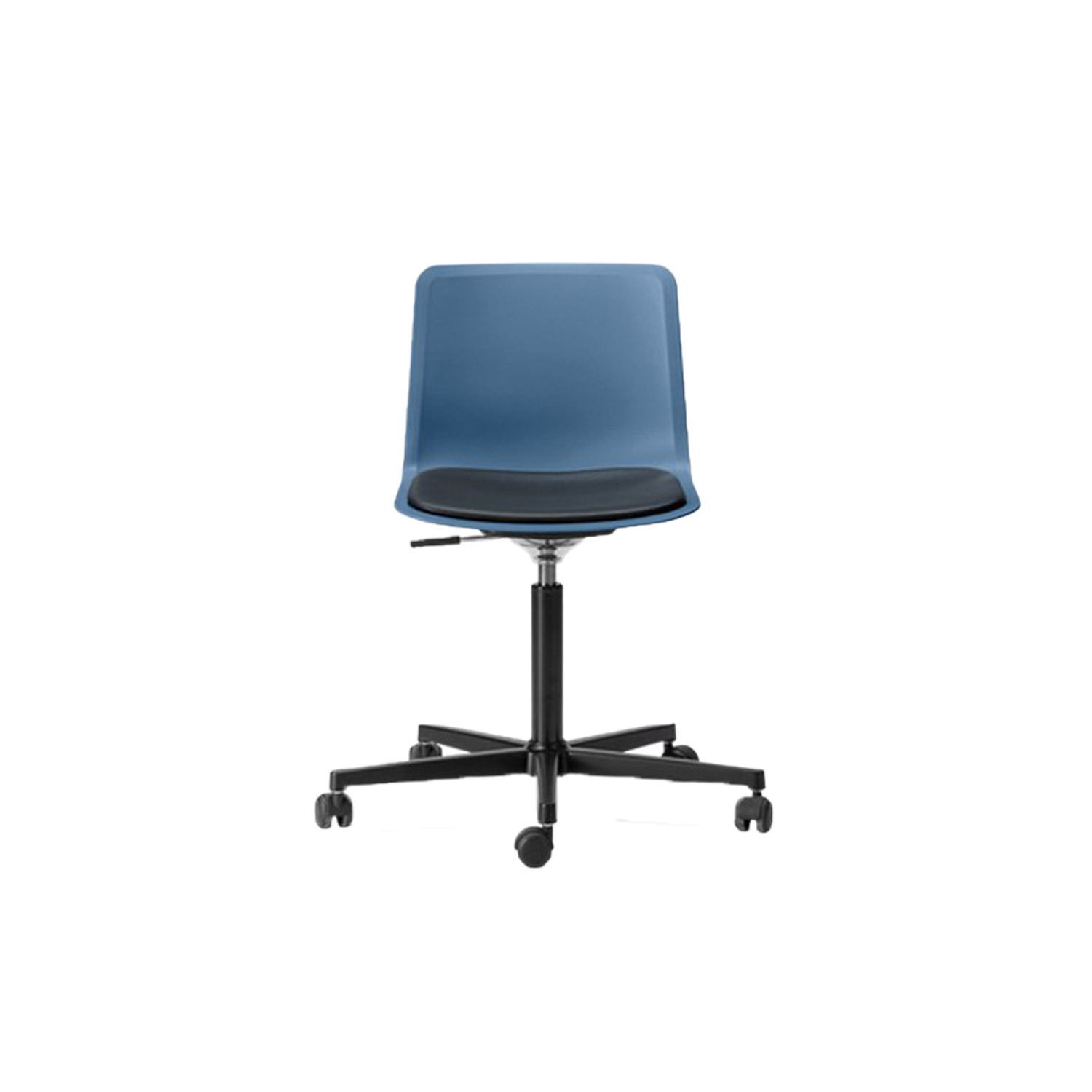 Pato Office 5 Point Swivel Base Chair Seat Upholstered - Pato Office Chair is fitted with a 5-point star swivel base on casters. The frame has a swivel feature with height adjustable gaslift and a tilt function for comfortable task seating. The chair can be tuned from basic to exclusive with optional upholstery.