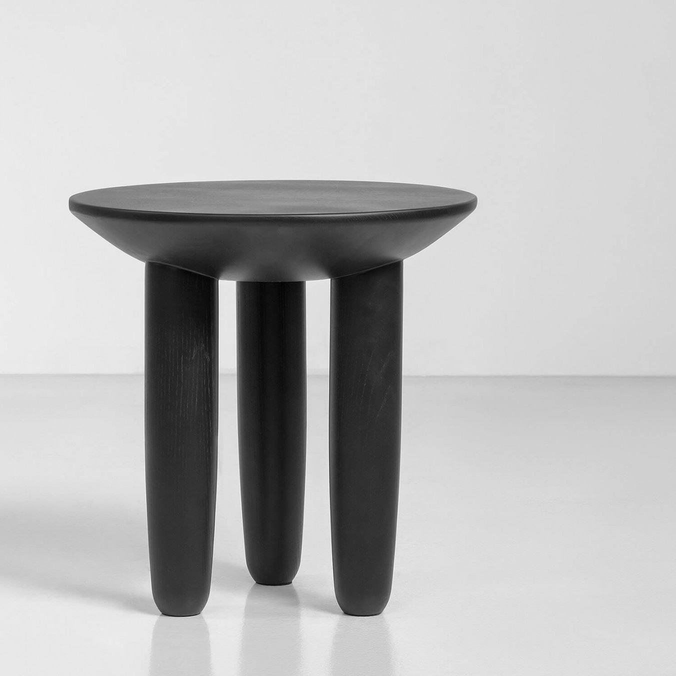 "HRYB set of Coffee tables - ""Hryb"" in Ukrainian means mushroom. After the rain in Polesia, just got out of the ground this small wooden coffee table on 3 legs, on which has already settled comfortably your cup of sweet-smelling coffee.</p>This is a set of both coffee tables however they are also available to purchase separately. 