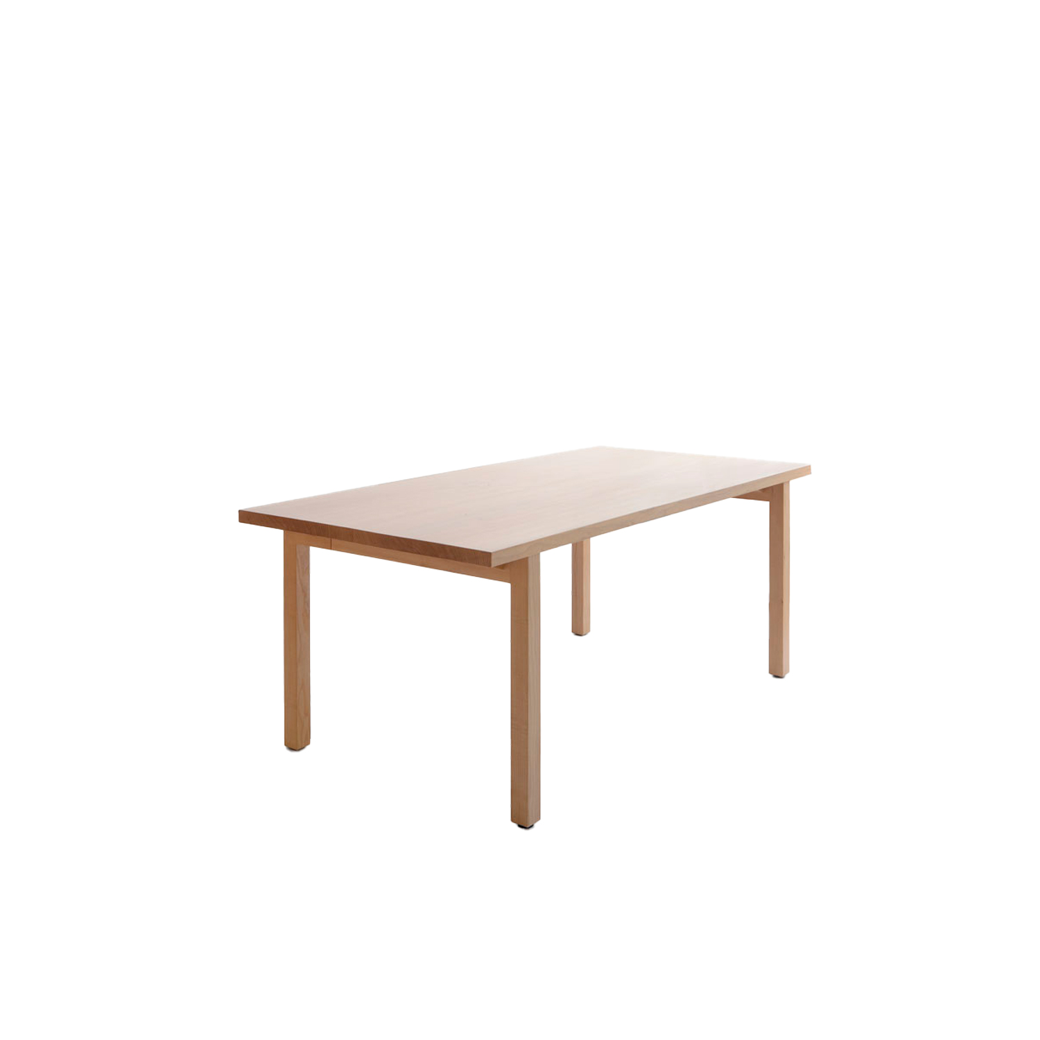 Periferia Table - The archetype table, Periferia, is a timeless solid wooden table that will last from father to son and longer. Due to its understated forms, one can select whichever chair to accompany it.  Periferia table is available in birch, ash, or oak with an oiled finish, and the table is available in two different sizes, and a bigger size table is also available upon request. Cable tray and solid wood flaps for tables are available at an additional price.  | Matter of Stuff