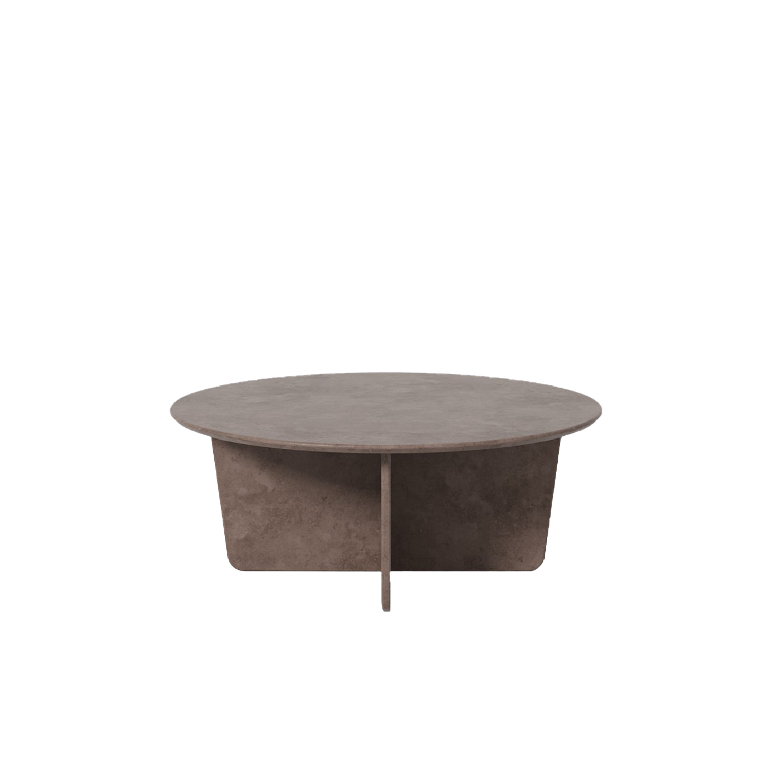Tableau 1960 Coffee Table - The Tableau series in stone reflects a passion for natural materials that runs deep in our DNA, involving expert craftmanship that lies at the core of our company. With its graceful geometric contours and x-shaped base, Tableau creates a soft silhouette that exudes effortless elegance.  Stone is a new addition to select products in Fredericia's portfolio and Tableau is one of the first to be launched in stone.   It's quite an accomplishment to craft the table in stone, creating synergy with the soft-corned square top and the x-shaped base. Stone has a universal appeal as an exclusive material, with subtle differences in surface patterns unique to each stone.   Available in three versions, the Tableau series in stone makes for a subtle yet striking statement that's ideal in a variety of venues. Such as private homes, as well as luxurious hotels, upscale restaurants and exclusive lounges. Virtually any interior where you want to signal a look that's timeless and unquestionably elegant.   | Matter of Stuff