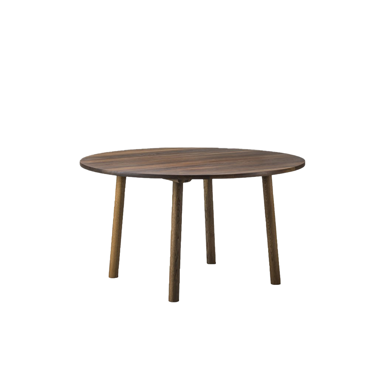 Taro 6121 Dining Table - Taro is a series of solid oak tables created with a strong focus on daily function and use, whether in the kitchen, dining area or meeting room. With machined grooves along its length, the table top resembles a traditional plank table, but has been executed in a refined and knotless selection of oak that will acquire the most beautiful patina.  Useful, understated, responsible design is an ongoing theme for Jasper Morrison. Seen in his focus on contemporary archetypes reduced to their functional essentials, as part of his definition of good design. Such is the case with our Taro Tables. Instead of starting with the purpose of a wood table, the starting point was finding a purpose for the wood itself.   Inspiration came from the premium grade quarter sawn oak at our Fredericia factory, used for many of our most compelling furniture designs, such as The Spanish Chair. The timber comes from trees aged upwards of 150 years, so maximising the most appealing planks while minimising wastage was a high priority.   The Taro Tables exude the natural appeal of oak, which will patinate beautifully over time, in a simple design that's unassuming yet appealing. Whether round or rectangular, for residential dining or corporate meetings, Taro commands attention with its solidity and stunning natural patterns of the wood grain.  | Matter of Stuff