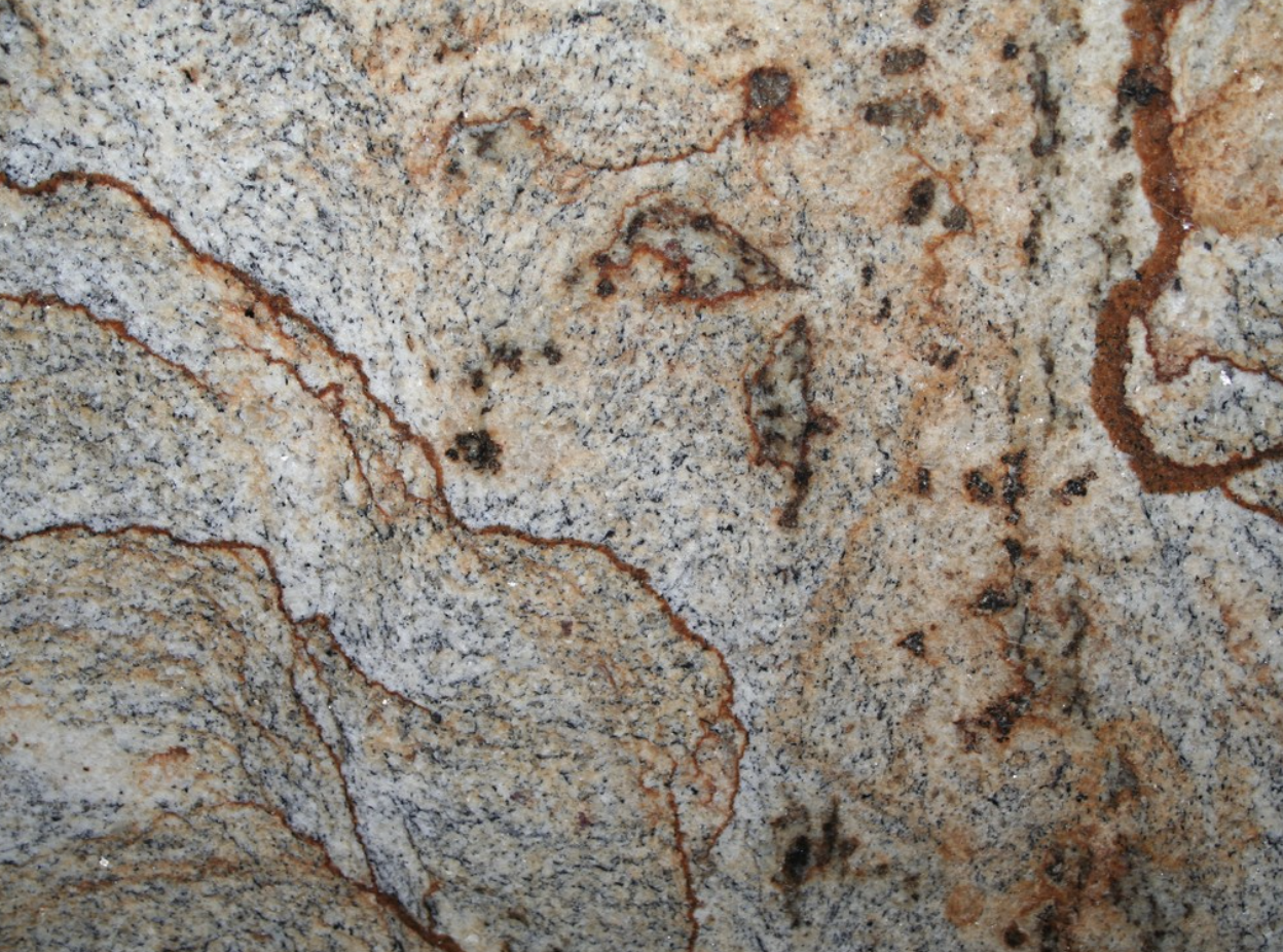 Golden Crystal - Golden Crystal is a granite from Brazil. This stone is suitable for indoor and outdoor designs. The colours gold and grey make it perfectly work in commercial projects.  | Matter of Stuff