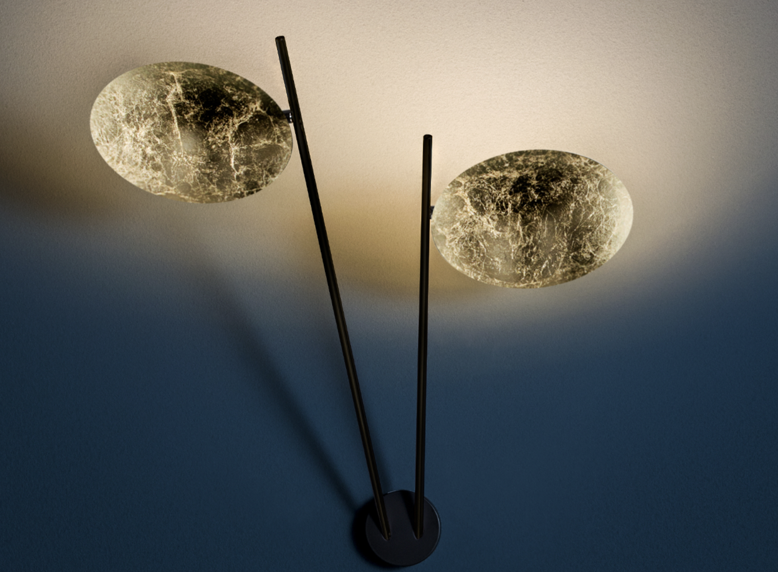 Lederam W2 Wall Lamp - My past and what I built so far are part of me, but Enzo Catellani was born today, with the desire to travelling backwards to rediscover the primal instinct of doing, for the pleasure of creating | Matter of Stuff