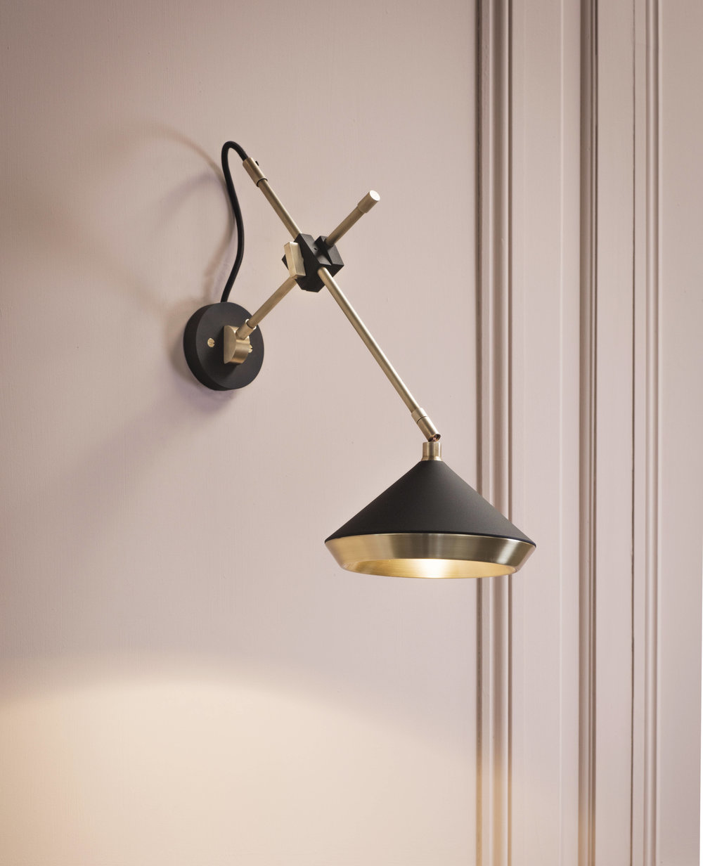 Shear Wall Light - <p><span>This versatile wall light is perfect for bedsides, kitchens or anywhere a wall mounted task light is required. This light is also available as a non hardwired fitting on request. </p> <p></span></p>  | Matter of Stuff