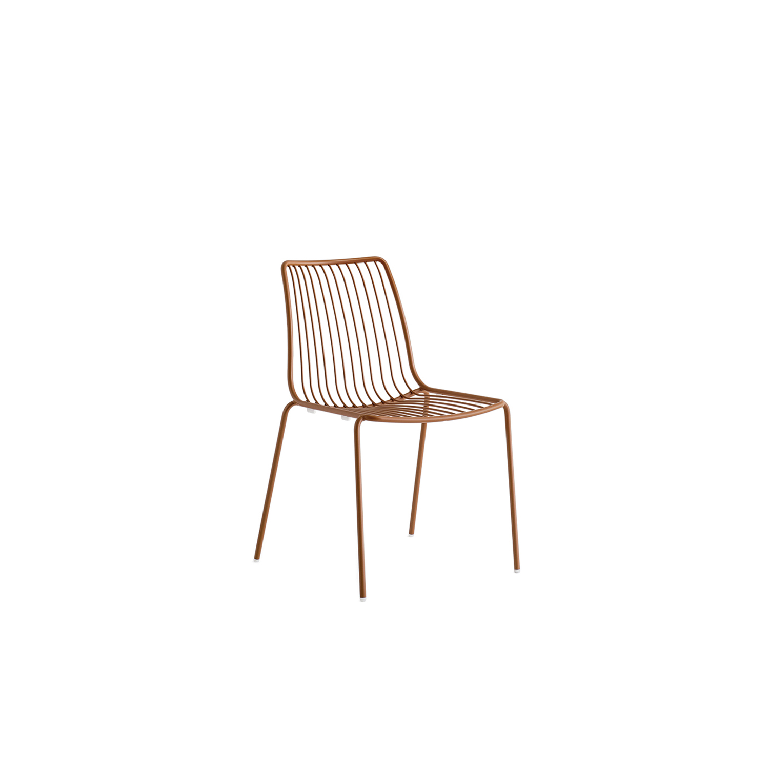 Nolita Chair High Back - Nolita is a family of outdoor seatings which recalls the origins of a historic course started by Mario Pedrali in 1963 with his first metal garden chairs. Chair with high backrest, steel tube frame powder coated for outdoor use.