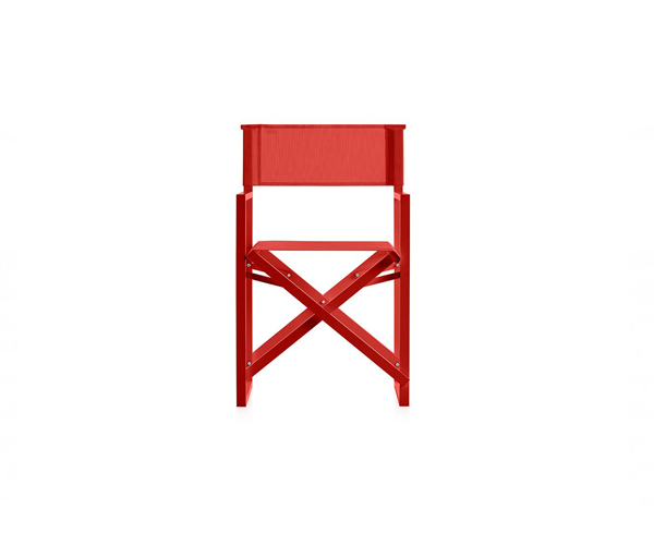 Clack! Chair - <p>Clack! is an improved version of the traditional wood and canvas folding beach chair. Although at first glance you might think it hasn't changed much at all, it's really a very different version as its structure isn't wood, it's aluminium. This changes everything, making it lighter and more weather resistant, but more stylish too. That's why it fits equally well into an informal beach setting as in an elegant outdoor dining area.</p> <p>Apart from having an aluminium structure, the seat and the back are made from an ergonomic plastic fabric, so the whole chair is much more resistant to sun, water and salt than the traditional wood and canvas versions. Plus, both these new materials need less maintenance. By making these simple changes, the chair's designer, José A. Gandía-Blasco, has made this basic item hugely more stylish.</p>  | Matter of Stuff