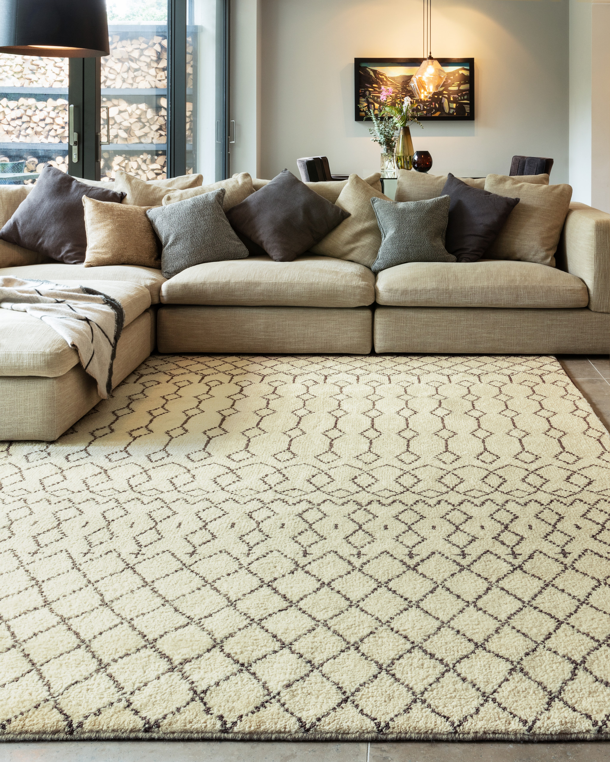 Amira 03 Rug - <p>Part of the Classica Heritage Collection, timeless oriental and Persians deisgns are refreshed for the present day. Classic looks and traditional crafts feature throughout for sophisticated style and long-lasting appearences. Amira is a hand-knotted rug with a Maroccan Berber look, washed for a softer feel. Avaiable in different sizes.</p>  | Matter of Stuff