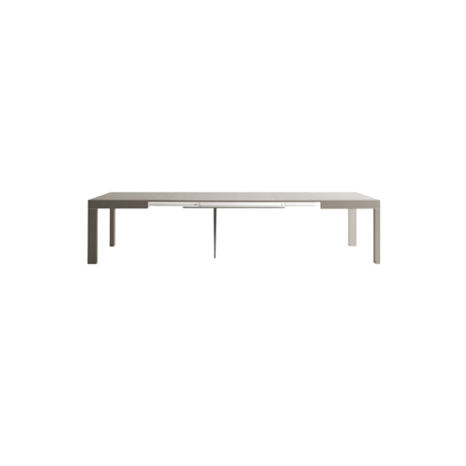 "Duetto Extendable Table - <p>Discretion and elegance define space. ""Duetto"" is simple and linear, the immediate solution to add seats to your table in quick and easy moves that solve this way the most peculiar needs of the contemporary life.</p>