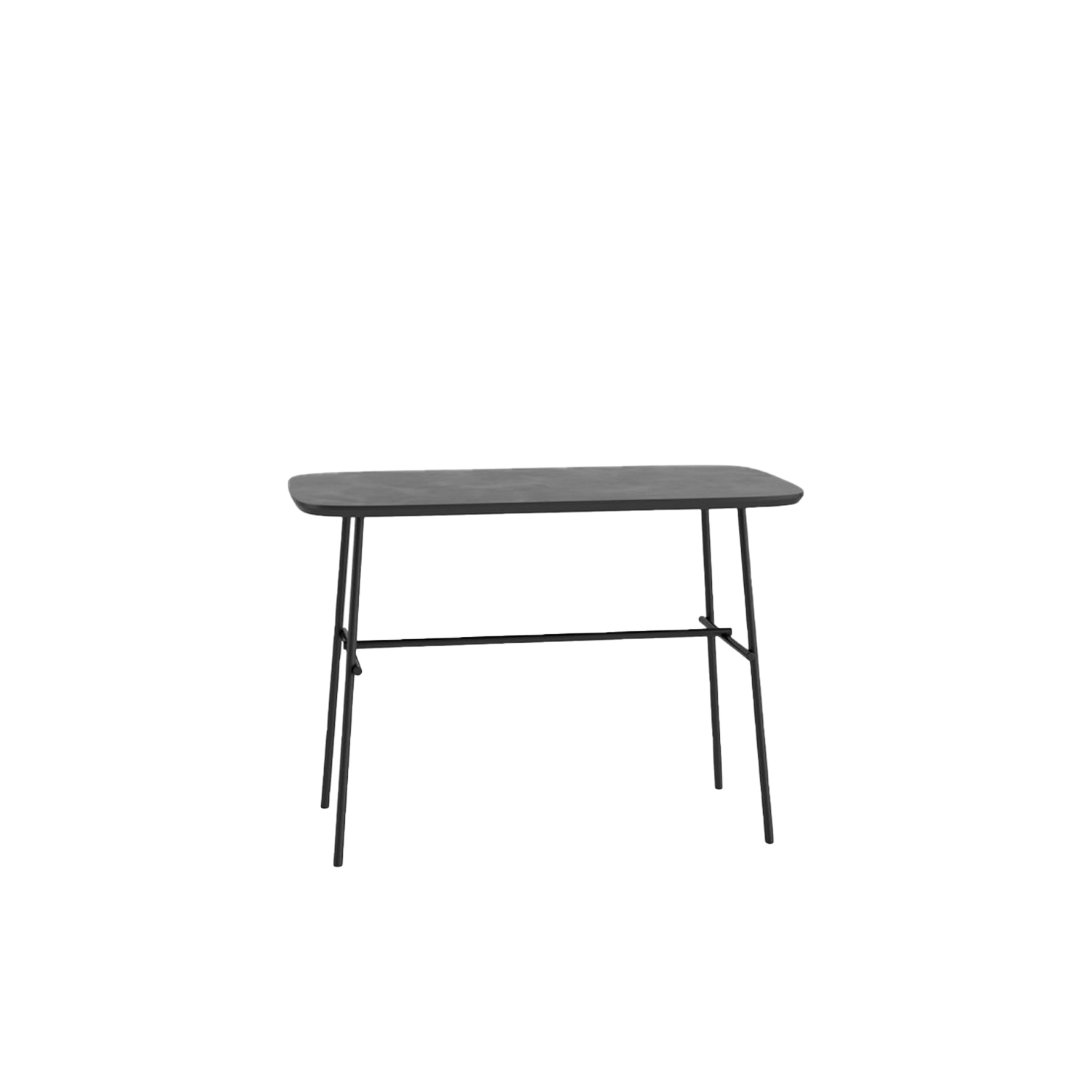 Kelly W Work Table  - Created in order to complete Kelly seating collection, but usable in every situation, from home to contract, these small tables with different heights stand out for the top's organic shape and for the thin metallic structure that make them dynamic and light. This table can have an embossed finish. Please enquire for more information.  | Matter of Stuff