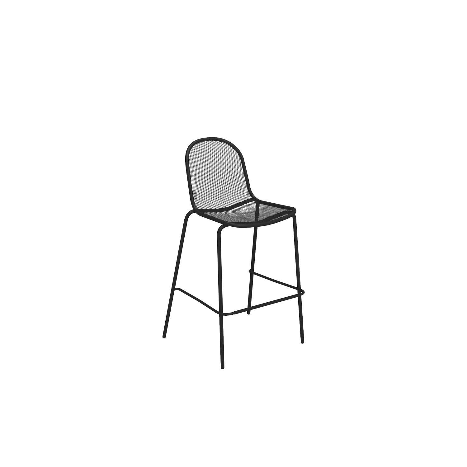 Nova Barstool - Set of 4 - The Nova collection is characterised by small dimensions for maximum comfort, with unmistakable and original lines. The unusual armrest gives style and character to the armchair, bringing a bright note to a wide range of settings. The collection is completed with two square dining tables, whose clean lines enhance the unique design of the seats.  | Matter of Stuff