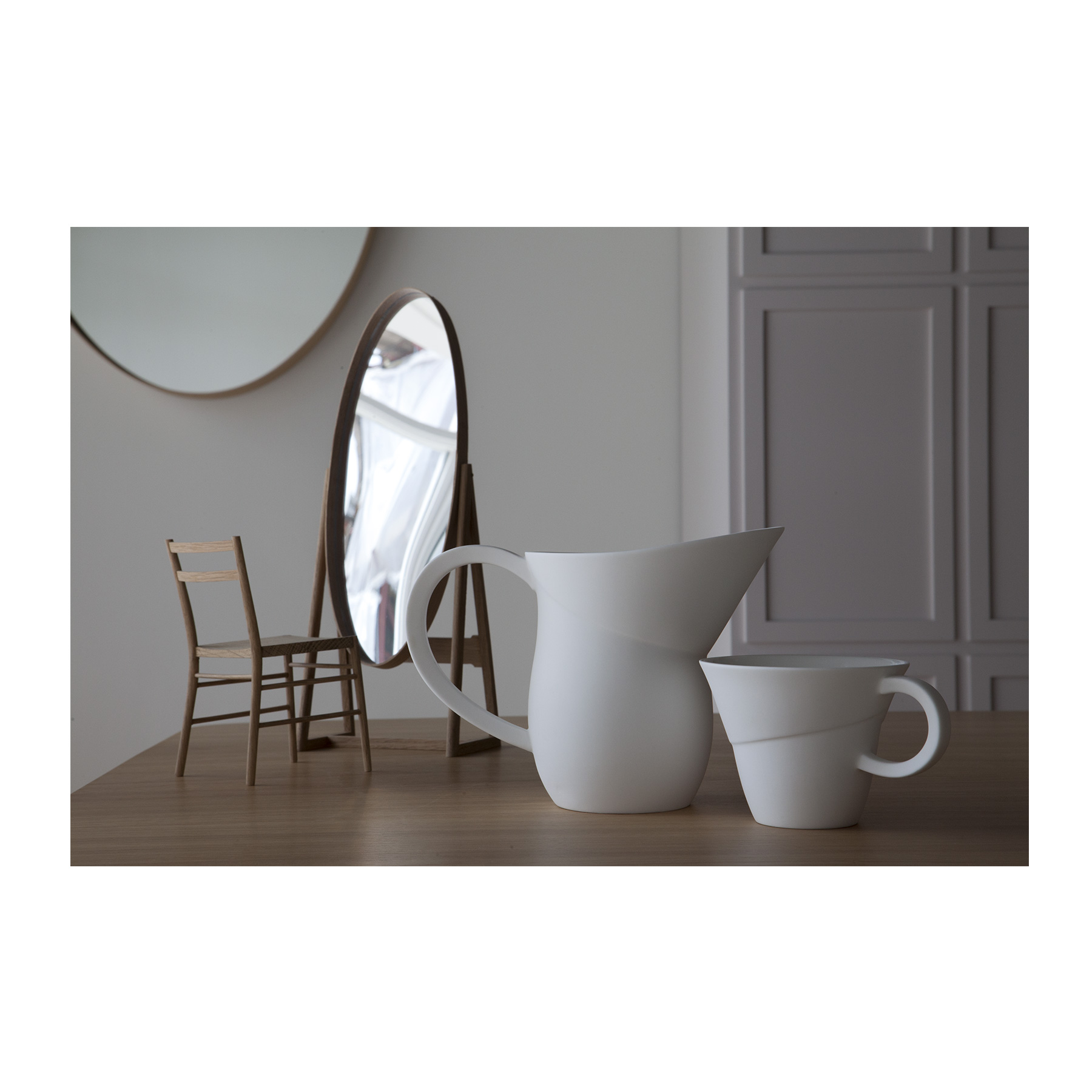 Flare Jug - <p>Russell Pinch and Oona Bannon are renowned furniture and lighting designers and have reduced the scale in which they design to create Flare.<br />