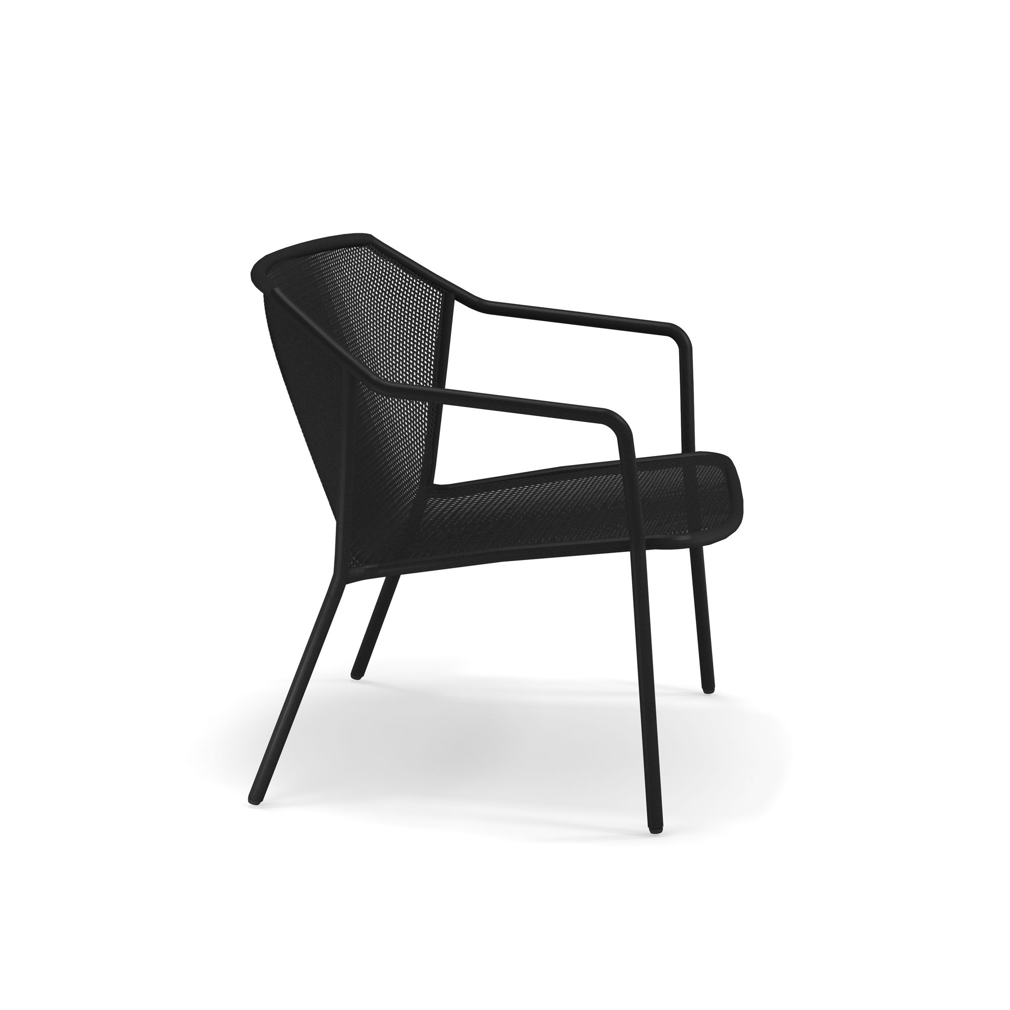 Darwin Lounge Chair - Set of 2 - <p>The ergonomic proportions and lightness of structural lines guarantee both comfort and adaptability. Darwin is a steel collection, which revisits classic themes, in a delicate metal sheet mesh placed within a contemporary geometric structure. The Darwin range consists of chair, armchair, tables, stool and counter table, sofa, lounge chair and coffee table. Defined by its exceptional style, Darwin is suited to all kinds of furnishing contexts.</p>
