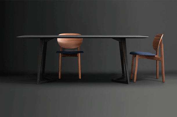 Twist Rectangular Table