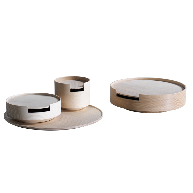 Container - <p>Container: vessels made of turned ash. Finely craftedbody and lid. Other colours available: ash untreated,telegrey,coral red,pastel turquoise,reseda green,signal black,white.</p> <p>Please contact us on info@matterofstuff.com for information</p>  | Matter of Stuff