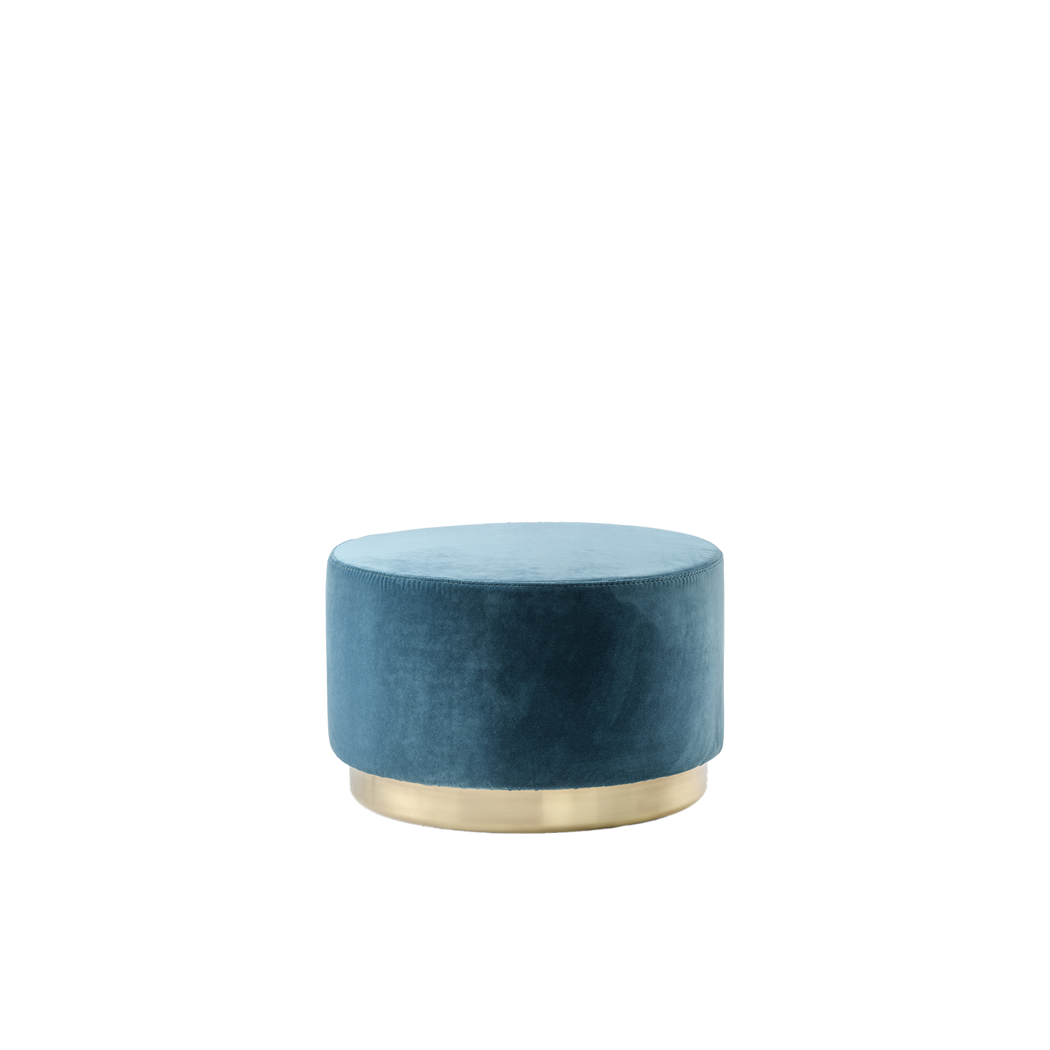 Wow 326 Round Pouf - Pouf that gives a casual and ironic touch to the contract and domestic environments. With a round shape of Ø 650mm, Wow is upholstered in polyurethane injected foam and has a steel base. | Matter of Stuff