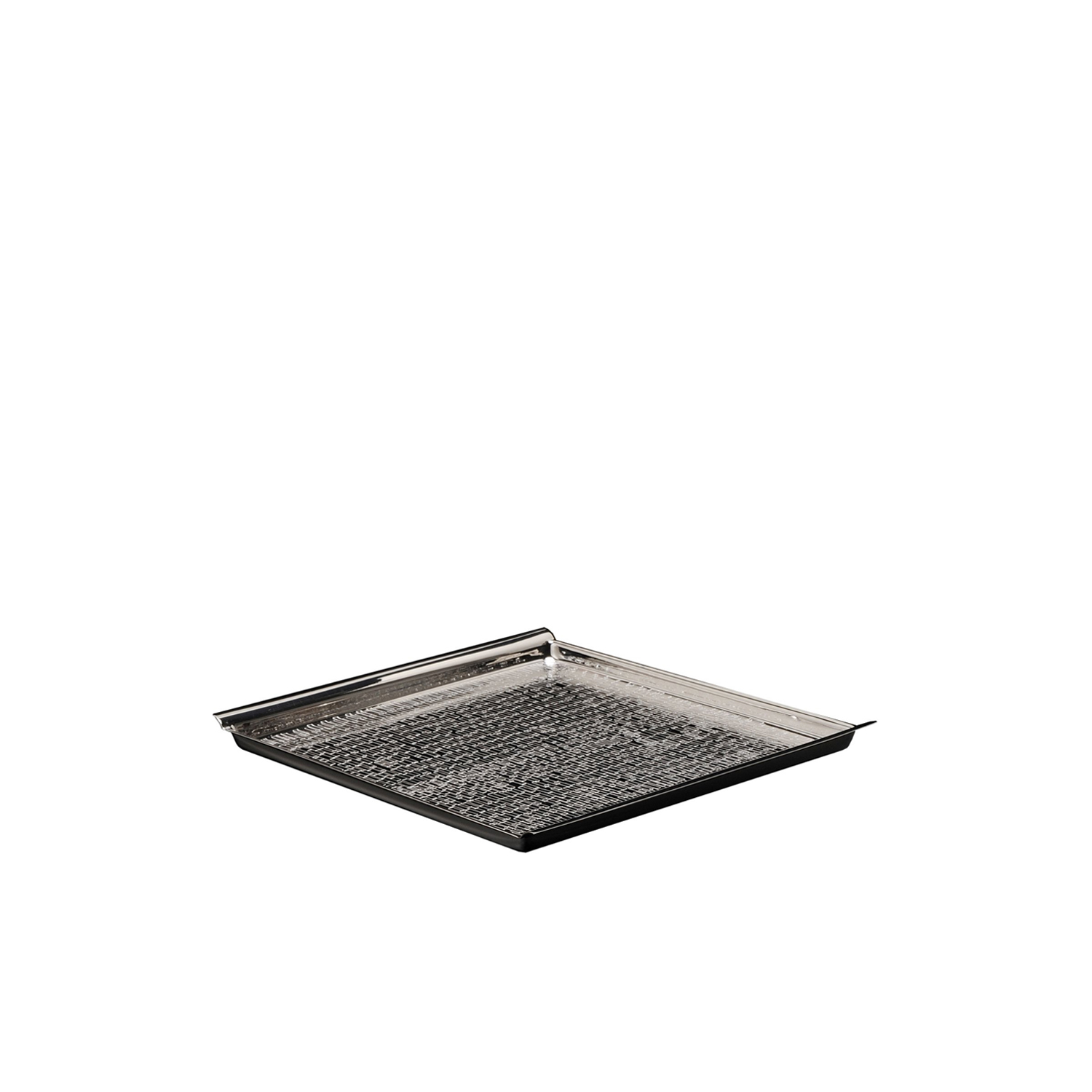 Vancouver Square Tray  - Silver-plated Tray Vancouver model, entirely made by hand. | Matter of Stuff