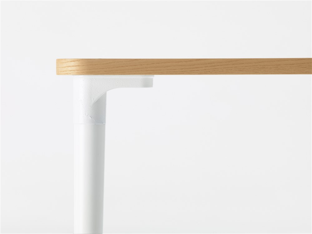 Tailor Table 2400 - <p>Tailor (2018) table is a versatile table in a multitude of different standard sizes and finishes – and it can also, of course, be ordered in dimensions perfectly tailored to meet customer needs.‎ The leg mount is a sand-moulded casting of recycled aluminium, the shape and expression of which recalls the industrial heritage of the Husqvarna iron foundry.‎ </p>