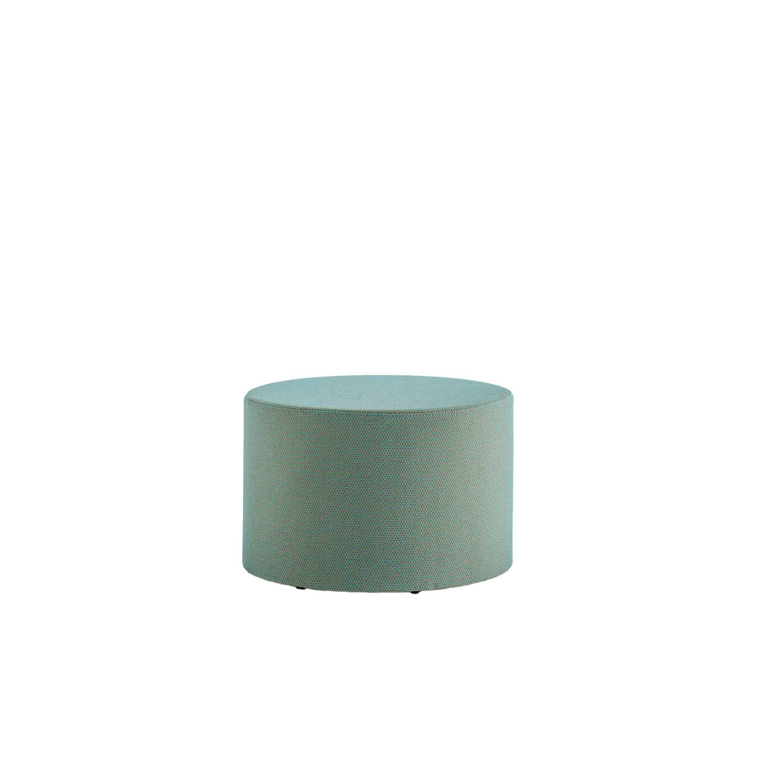 Wow 323 Round Pouf - Pouf that gives a casual and ironic touch to the contract and domestic environments. With a round shape of Ø 650mm, Wow is upholstered in polyurethane injected foam. | Matter of Stuff