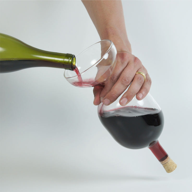 Corked Decanter - <p>Corked decanter is afun and entertaining carafe that will help your wine taste its best and cause a stir with your guests. Decant your wine through the funnel base to give it the maximum amount of air, cork it, flip it and be ready to serve.<br /> Supplied with 2 new corks, but they can be exchanged with those from your favourite vintage wines.</p>  | Matter of Stuff