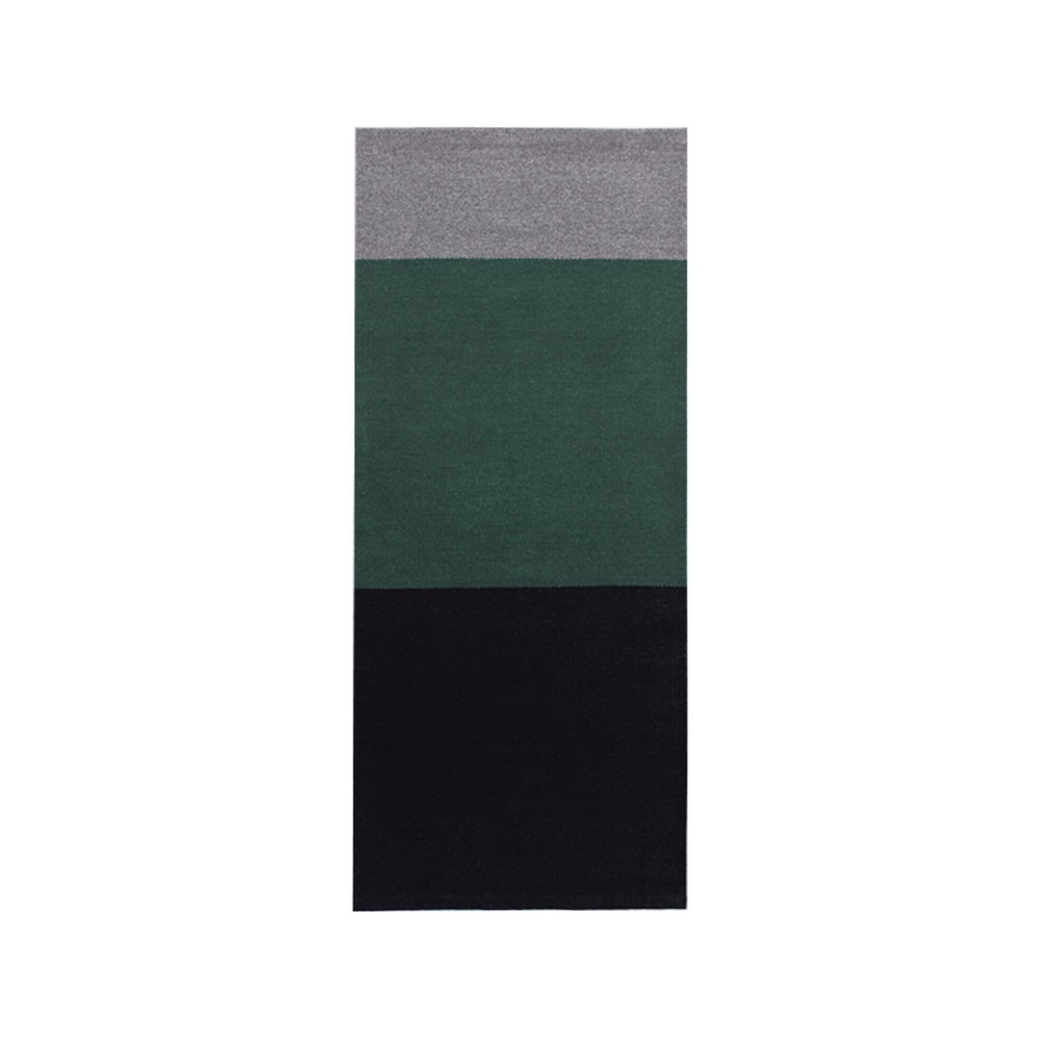 Billie Small Rug - The Alfred collection consists of five series (Fran, Frenzy, Lucy, Ivy, Billie) of handwoven minimalist carpets made by Belgian textile designers Marie Mees and Athérine Biasino. All carpets are hand-woven with a mixture of two top-shelf wools from New Zealand and Portugal, the first offering the right softness and look, the other adding strength.  By offering highly durable and supremely sober carpets, the Alfred Collection honours the archetype of the carpet, pure in form and in function, making it the perfect textile for the minimalist interior of the design admirer. Composition of the carpet is a mixture of Merino, New Zealand and Beira Alta (Portuguese wool).  | Matter of Stuff