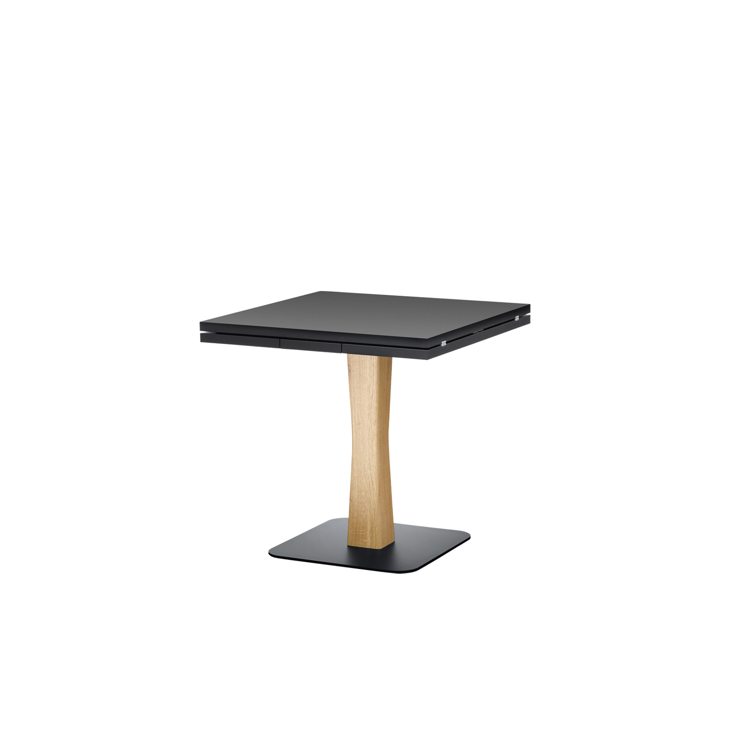 Gualtiero Extendable Table - Gualtiero is designed for smaller, more intimate spaces, from bistros to small apartments, finding the spot for an iconic, practical table.