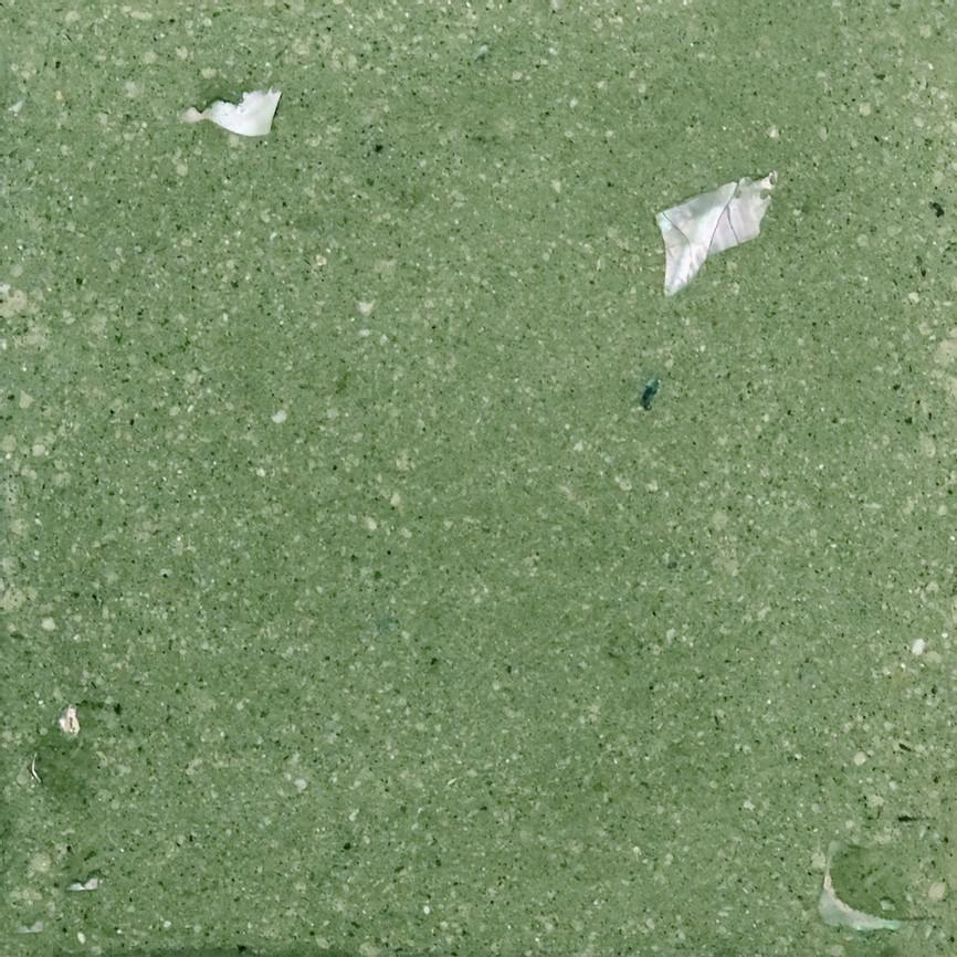 Moss Green SeaStone Terrazzo Tiles Square