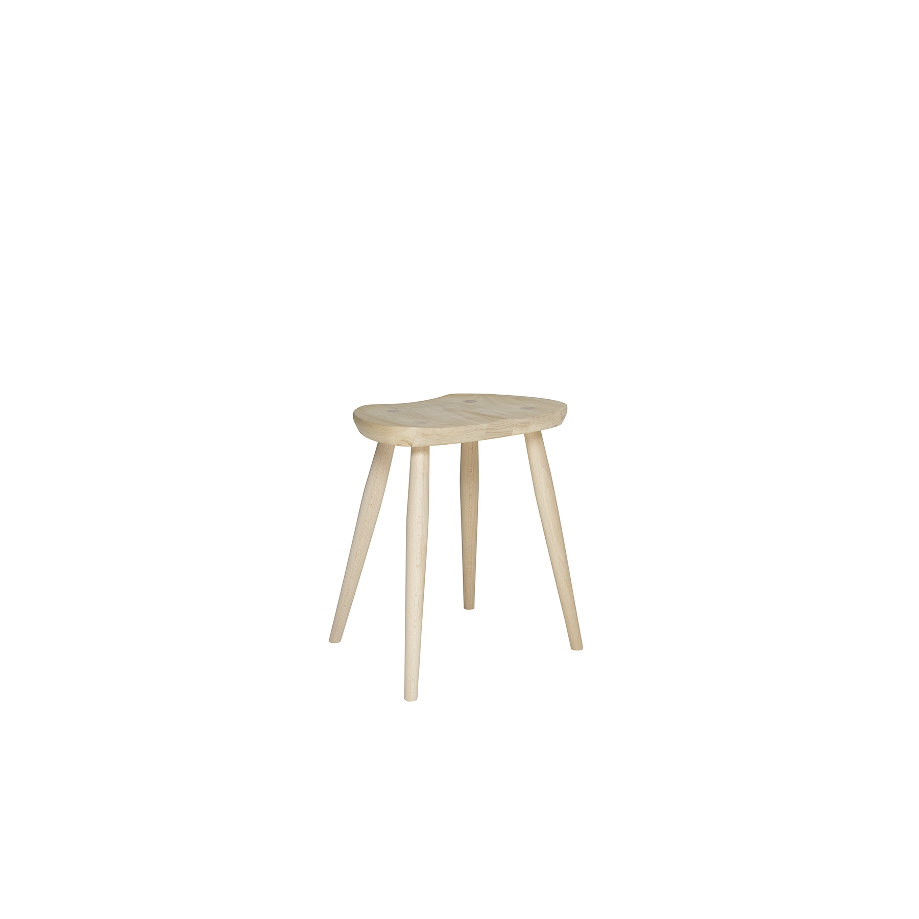 Originals Windsor Saddle Stool - The Ercol Originals are pieces of timeless and classic design that never date or show their age. It is furniture that is as relevant and as functional now as it was when it was created in the 1950s and 1960s. This furniture was designed by Ercol's founder, Lucian Ercolani, who drew for his inspiration on the time-proven local design and craft in the Chiltern Hills around where he lived and built his first factory in 1920 in High Wycombe. Using the strength of beech and the beauty of elm he carried this definition on into a huge variety of dining, kitchen, and school chairs and then extended the idiom into the low easy chair range epitomised by the 206 armchair and the studio couch. The beauty of the colour and the grain of the elm took Lucian on to use elm for the tables and cabinets of the Originals and the following Windsor range.   | Matter of Stuff