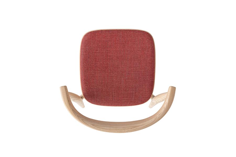 Newood Light Low Stool Upholstered