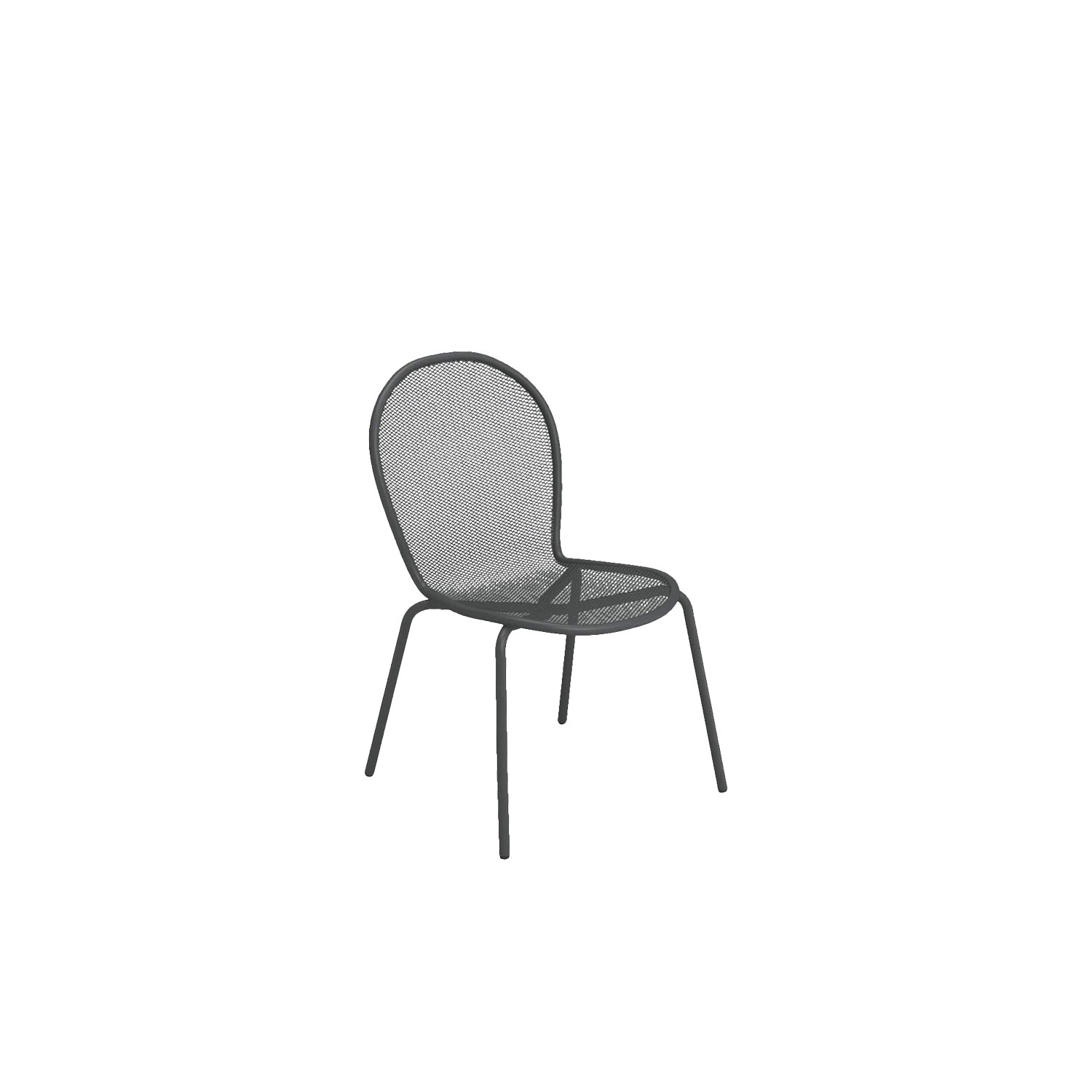 Ronda Chair - Set of 4 - With over two million pieces sold, this chair has long been a landmark world-wide, with easy design, sober and elegant lines. This set of for chairs is made from steel and comes in nine different finishes so you can choose the best finish for your space. These are outdoor chairs. Please enquire for more information