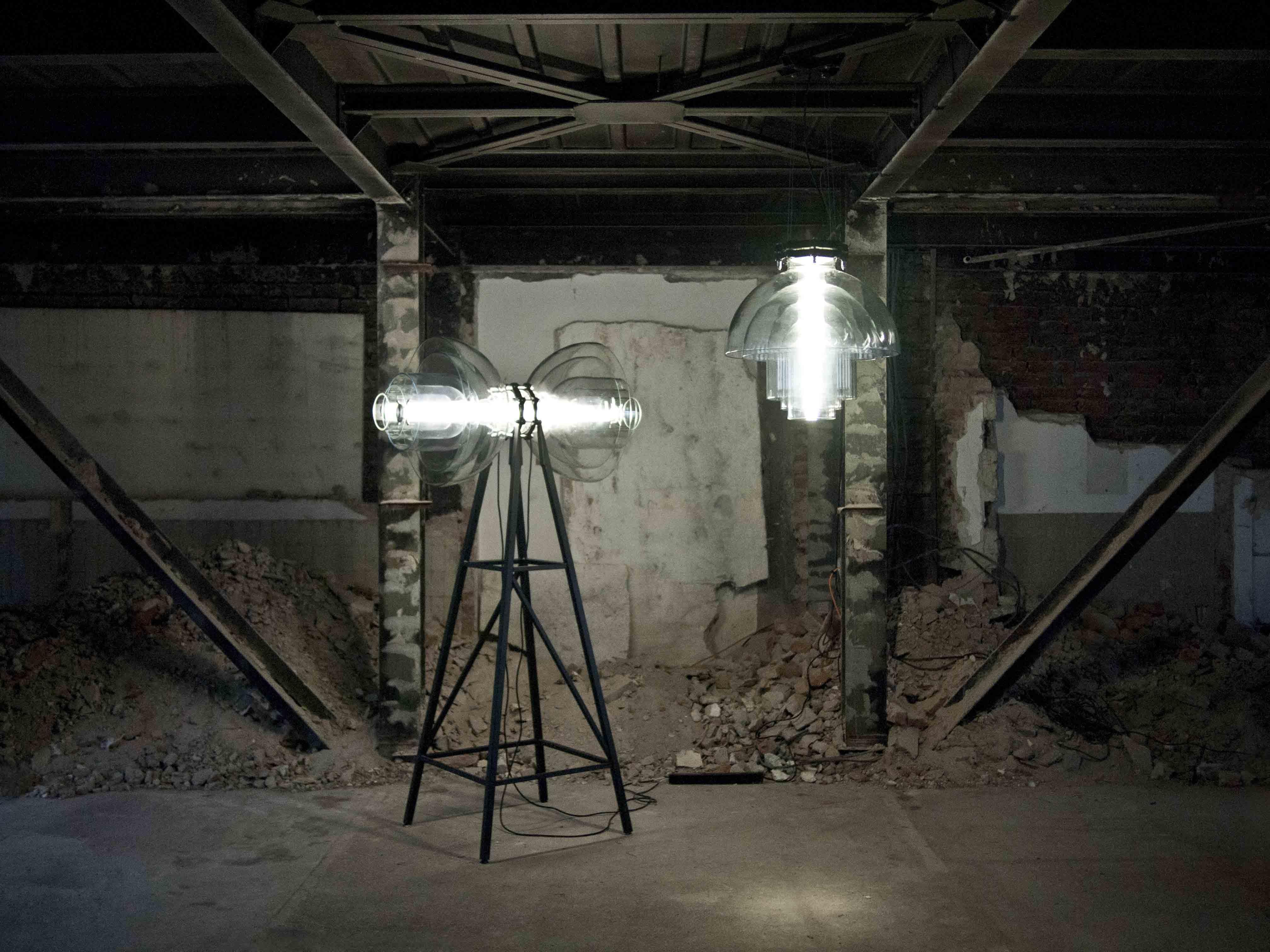 Transmission Floor Lamp