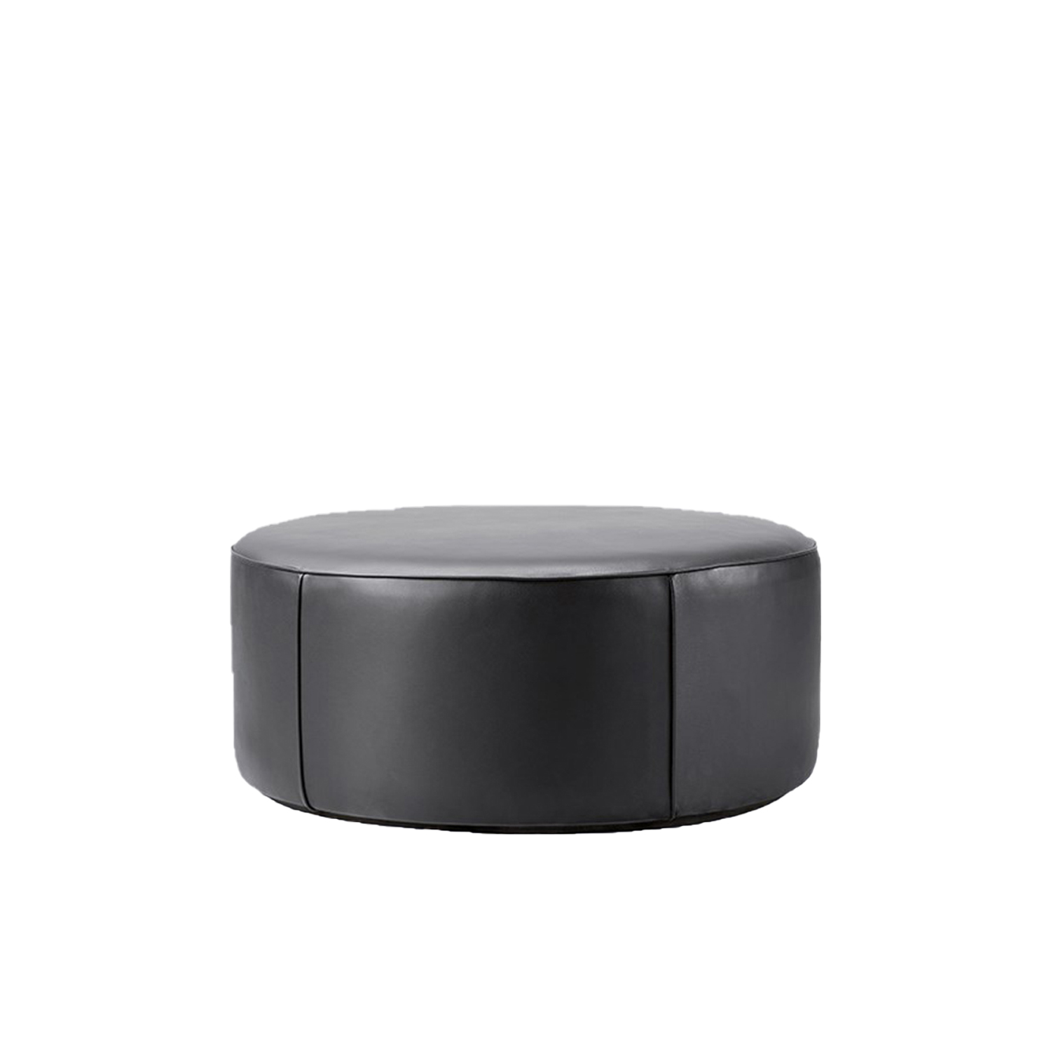 Mono Pouf Ø90  - Mono Pouf is a singular concept with a multitude of possibilities. Either as an appealing seating option, side table, footrest or decorative item, the cylindrical shape in different circumferences and heights makes Mono a welcome addition to any space. From retail and commercial venues to the hospitality and private sectors.  Fredericia introduces Complements – A new line of material-driven pieces conceived as collector's items to complement our portfolio.   Complements is a new collection of designs that join our main collection of furniture. A line of collectibles rooted in our passion for materiality comprised of functional pieces with aesthetic qualities that are equally appealing as decorative elements. From objects and small functional furniture to hidden gems from our archives with a renewed relevance.   With Complements, we expand on our expertise with materiality to encompass a range of accessories and furnishings that - together with our line of furniture - create a look and feel for an entire interior or concept.   Drawing on our legacy of working with wood and leather, we've explored other materials with textures, colours and compositions that bring an extra dimension to the atmosphere. The result is a celebration of materiality in well-considered concepts that are refined, authentic, inviting and crafted to last.   We're always open to designers, where we feel a strong connection with their work and a mutual mindset. For Complements, we've engaged with the next wave of new talent in Denmark and abroad. Both new and established names, who share our affinity for honest materials and purposeful design.   Complements remains true to our design heritage at Fredericia while staying in tune with the world at large. Each piece is distinctive, yet they all reflect our pioneering spirit to create essentials with presence and permanence.   Collectibles to cherish now – and for generations to come. | Matter of Stuff