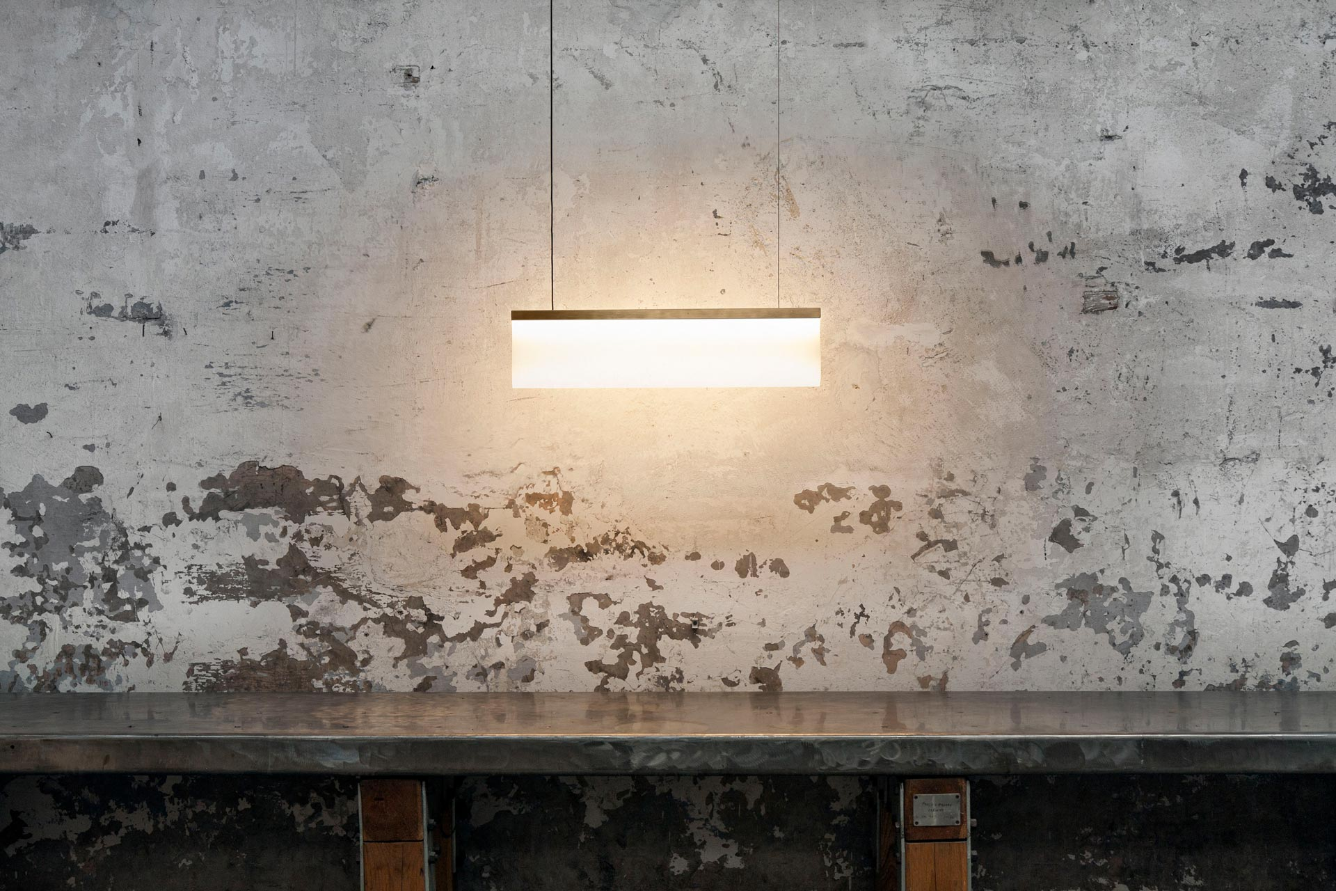 Calypso 60 Pendant - <p>The Calypso 60 Pendant is made from silicone with a brass frame. Silicone is well known for its multiple qualities, whilst its relationship with light is still to be researched.<br />By using a pmma profile, the hidden led light is focused and directed towards the silicone diffuser, which in return lights up with soft shades of warm light.<br />The result is a unique entity that glows gently, apparently generating light itself. This piece is hand made and is therefore unique. 